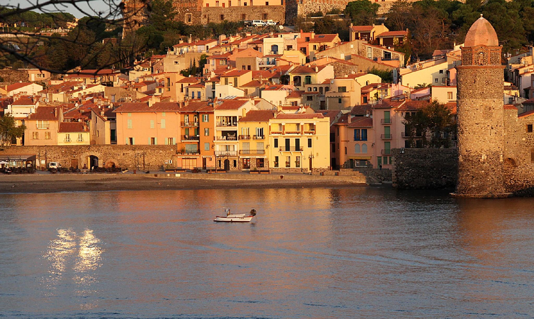 Collioure - Morning Sun by Carl Main