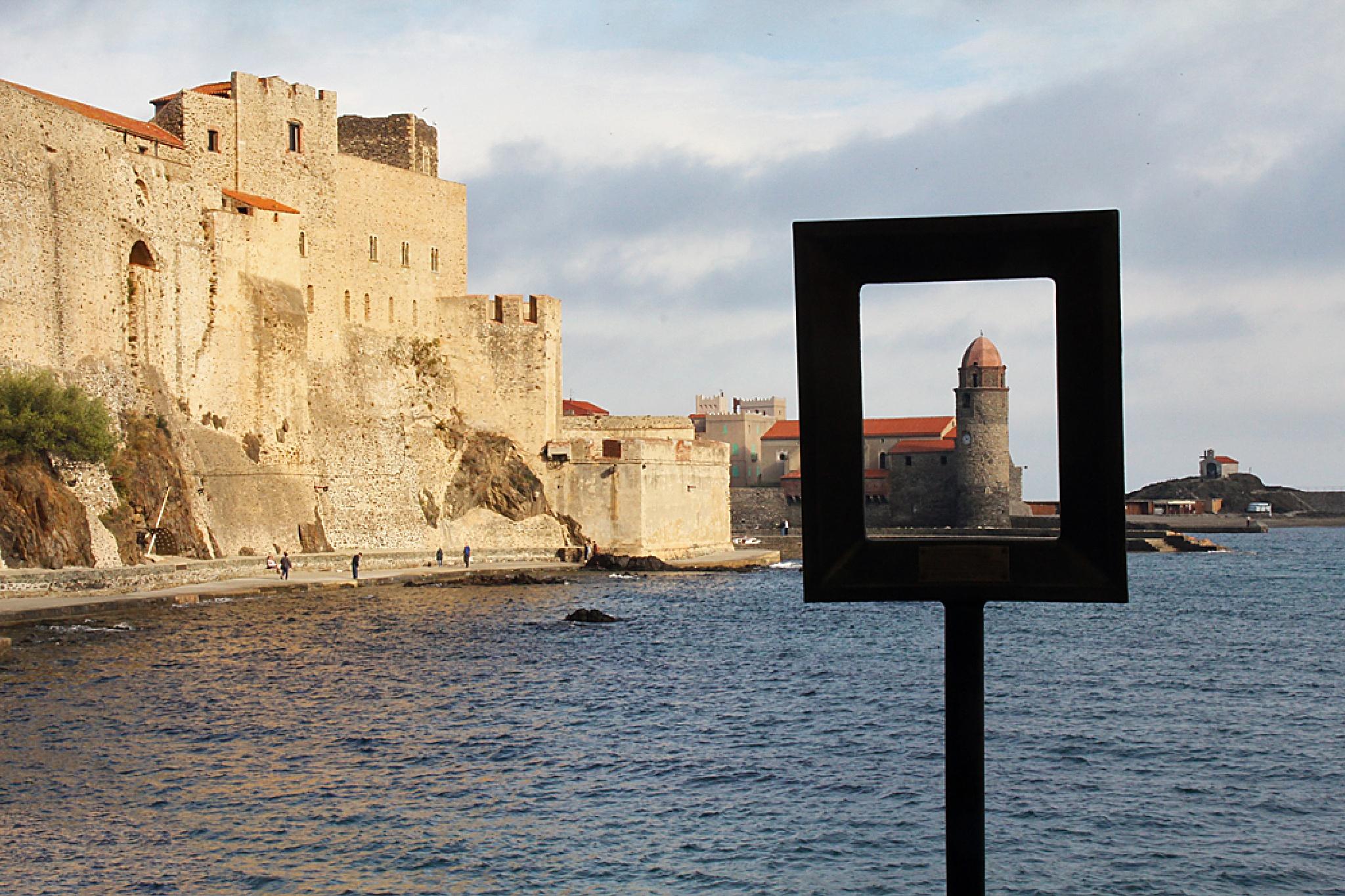 Collioure - Framed by Carl Main