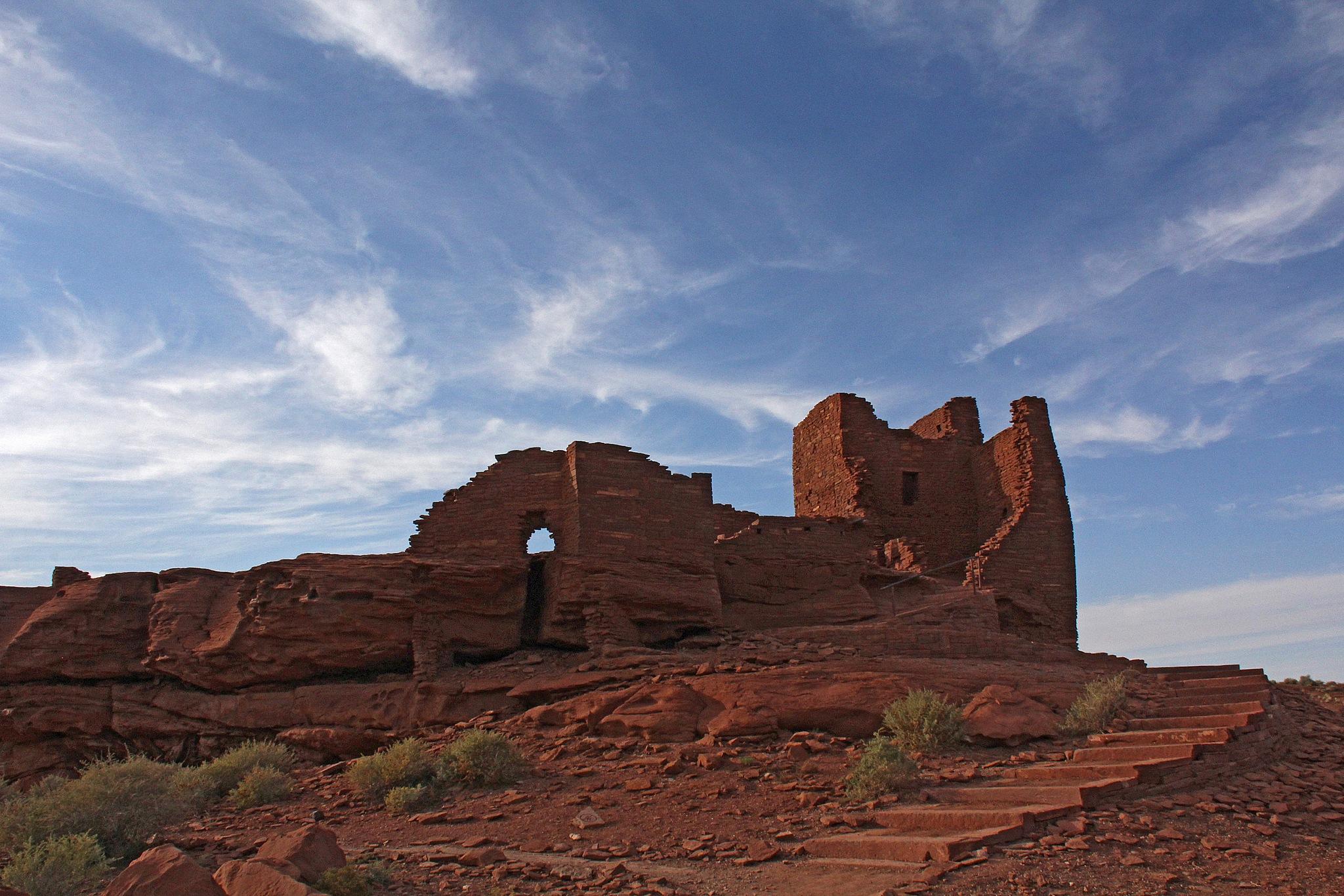 Wukoki Pueblo by Carl Main