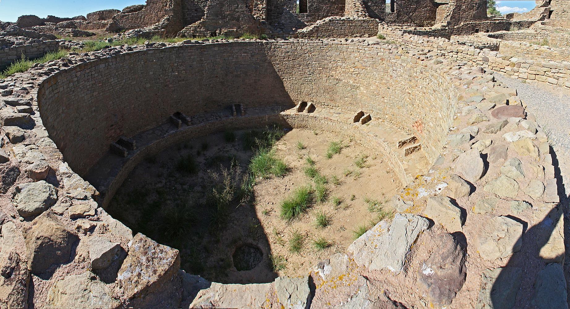 Aztec Ruins by Carl Main
