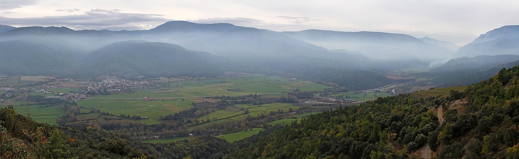 Morning Valley Panorama by Carl Main