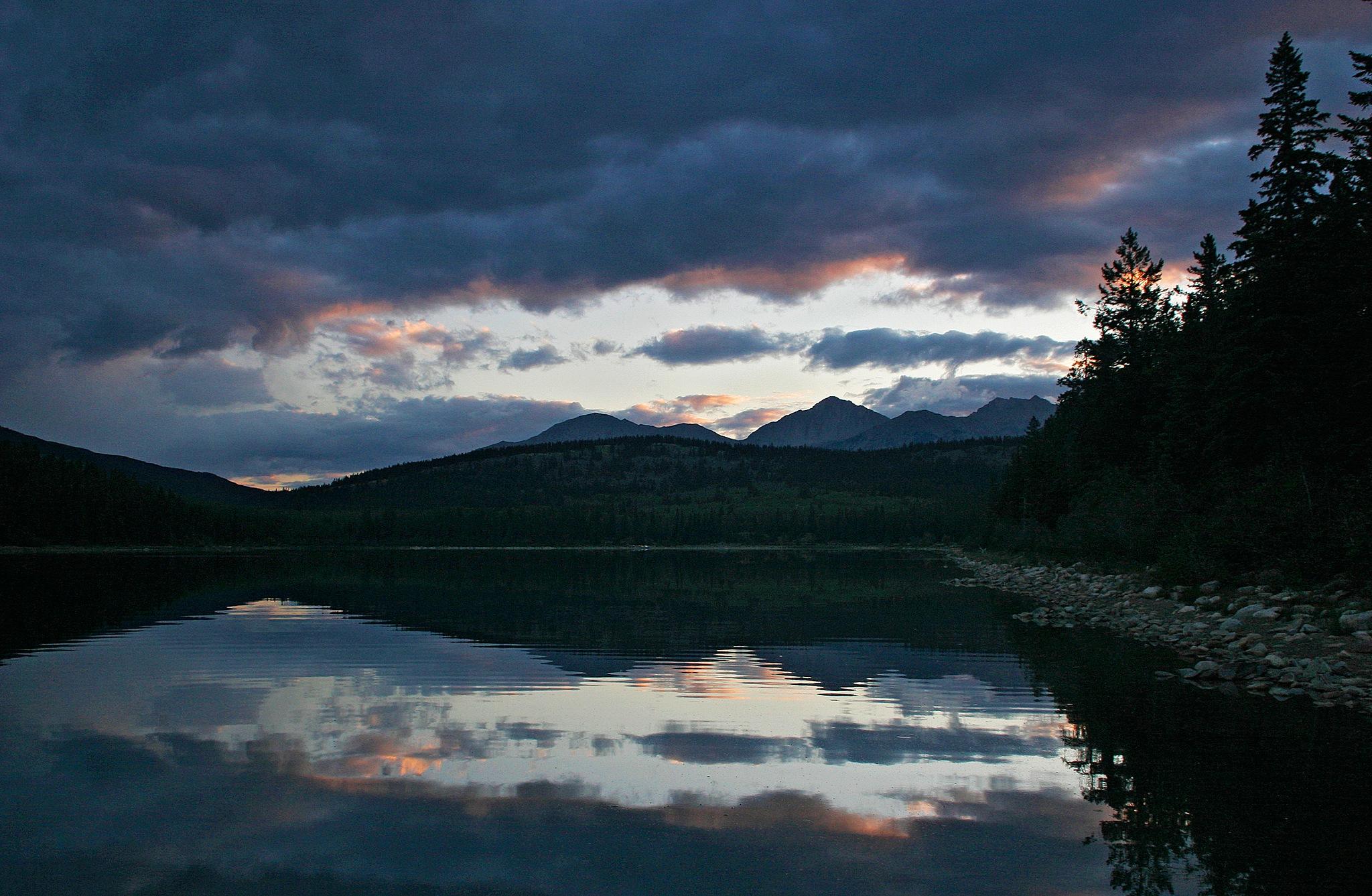 Paradise Lake Sunset by Carl Main