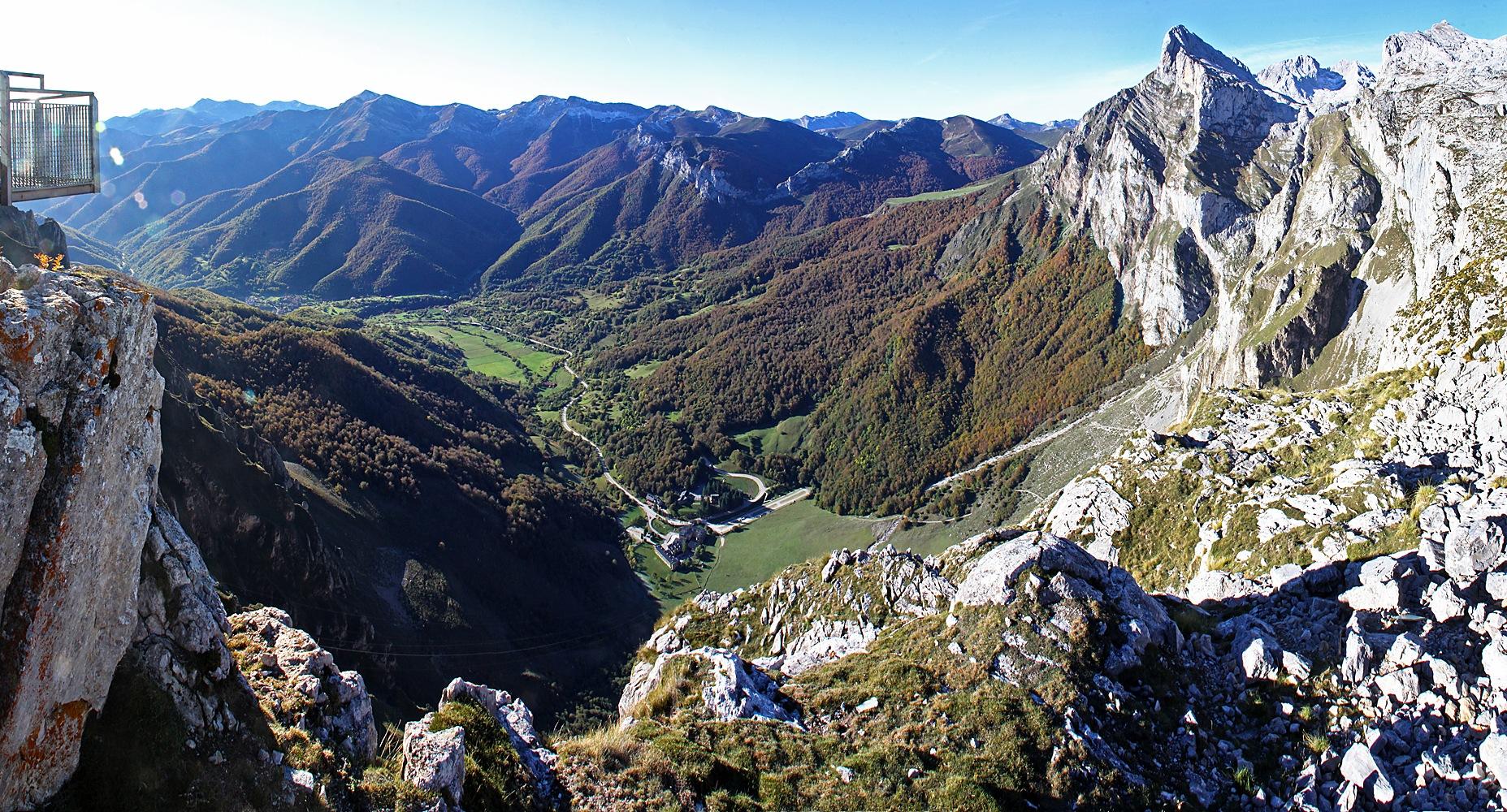 Picos de Europa View Panorama by Carl Main
