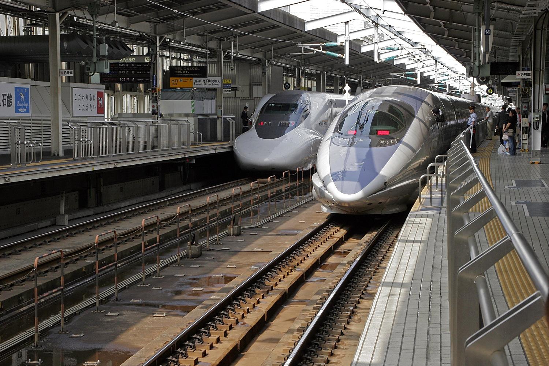 Osaka Train Station by Carl Main