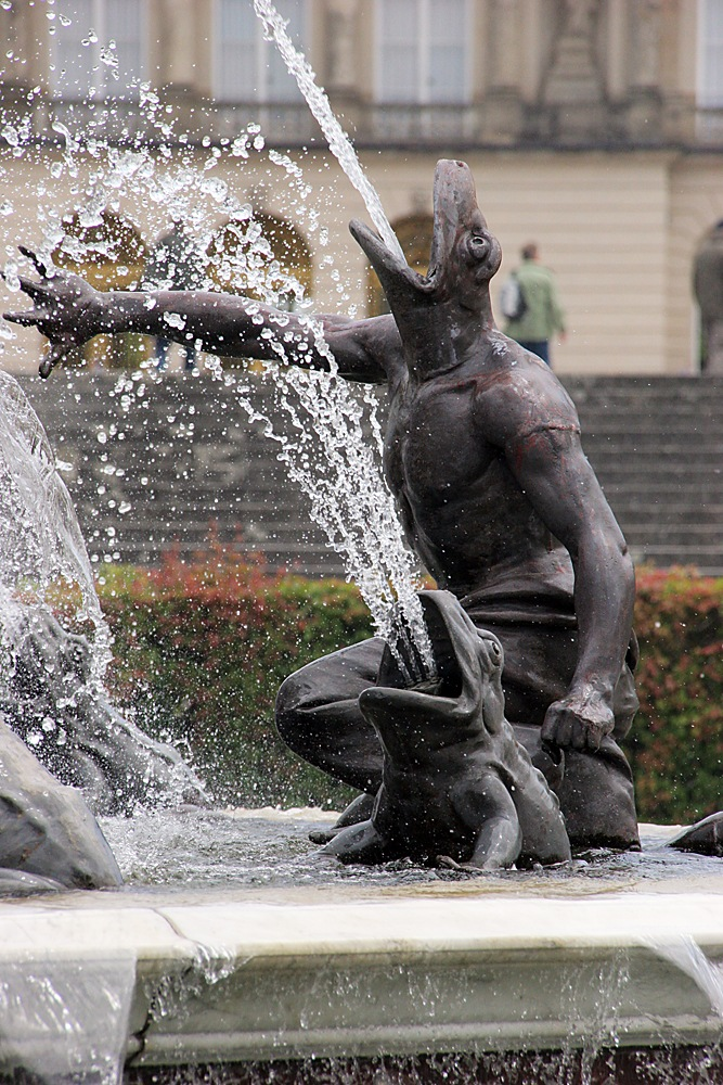 Chiemsee Fountain by Carl Main