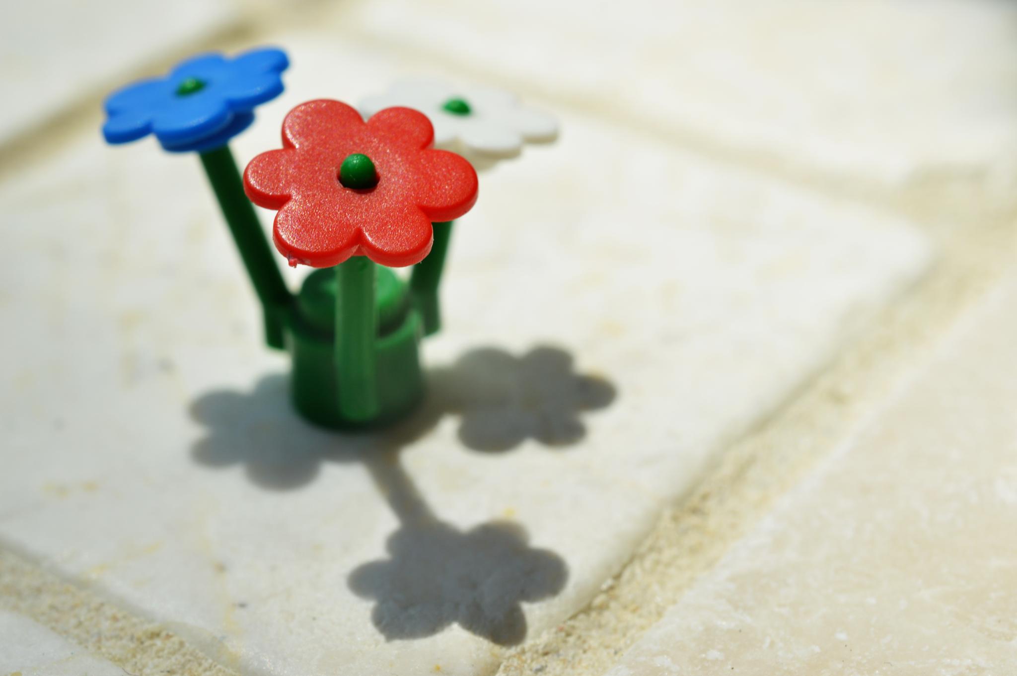 Lego flowers by JessicaGreenslade