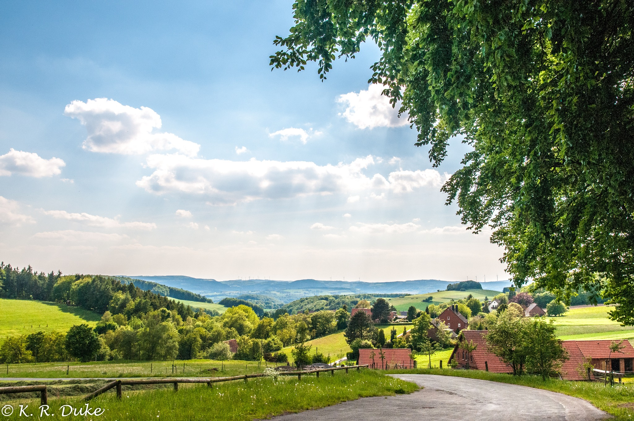 Early sommer country side.  by Ken R Duke(Kenray44)