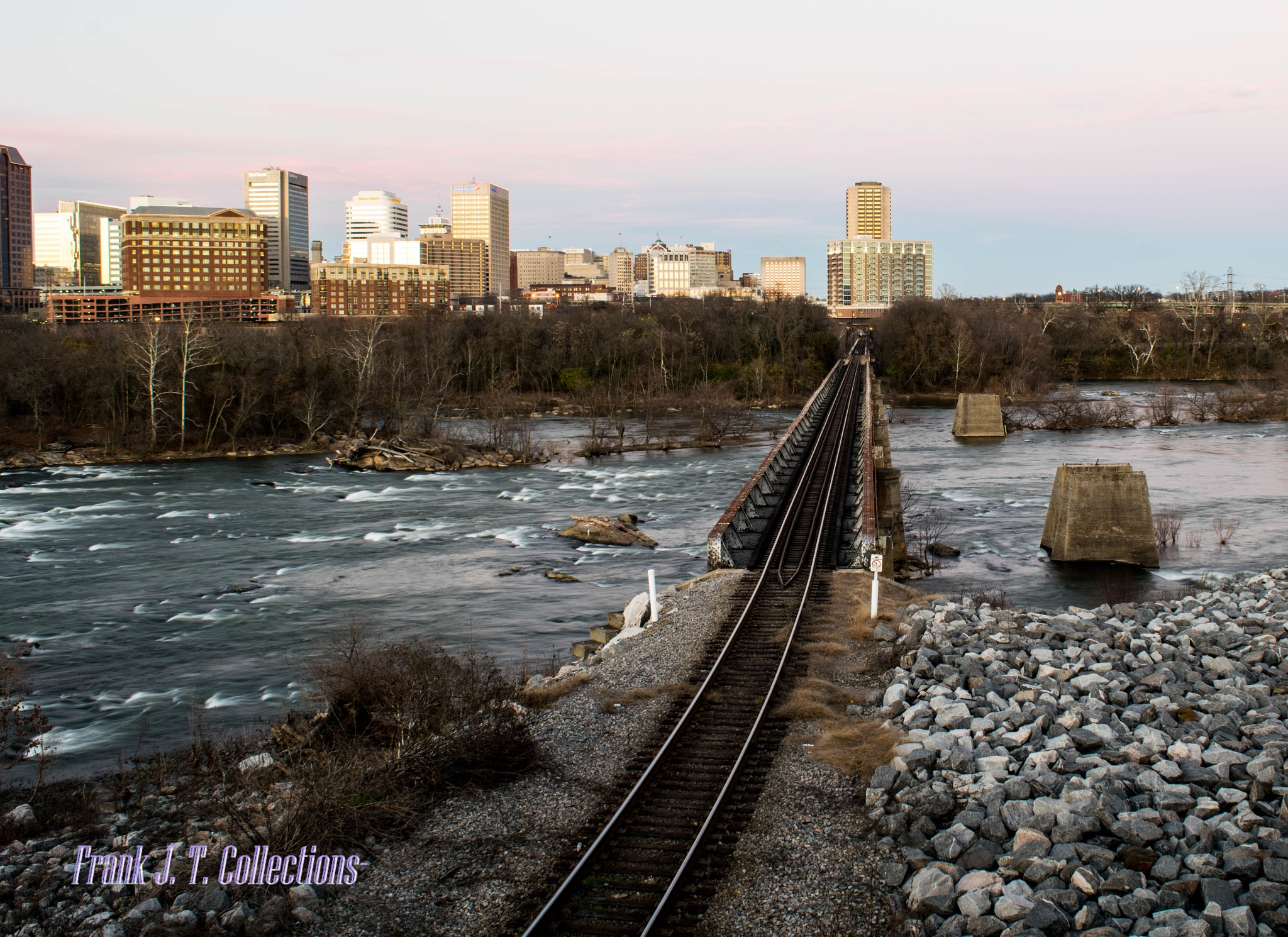Tracks over Trouble Waters by Frank J. Tinsley Collections