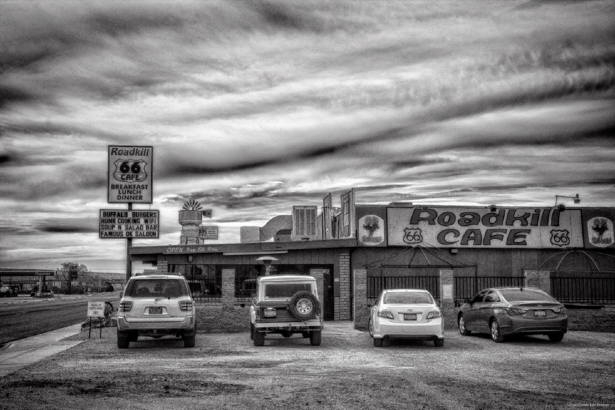 Road Kill Cafe by Jamie Eric Eisman