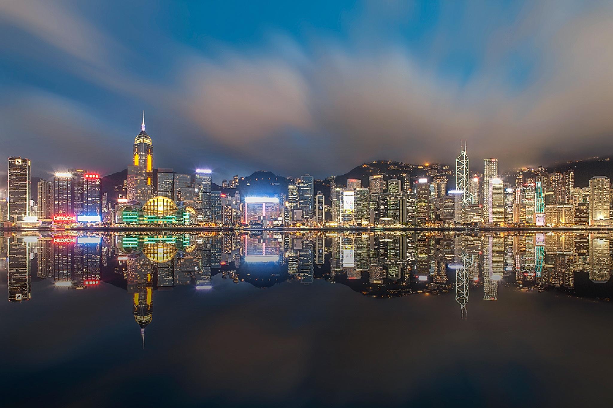Hong Kong by Rio Tanusudiro
