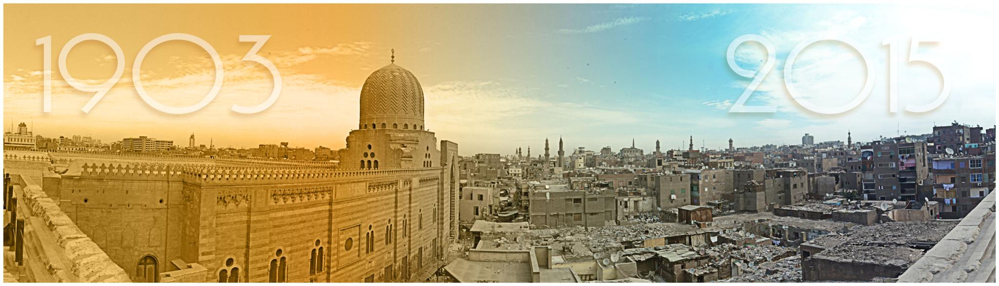 Egypt between the two dates by Wael Saeed