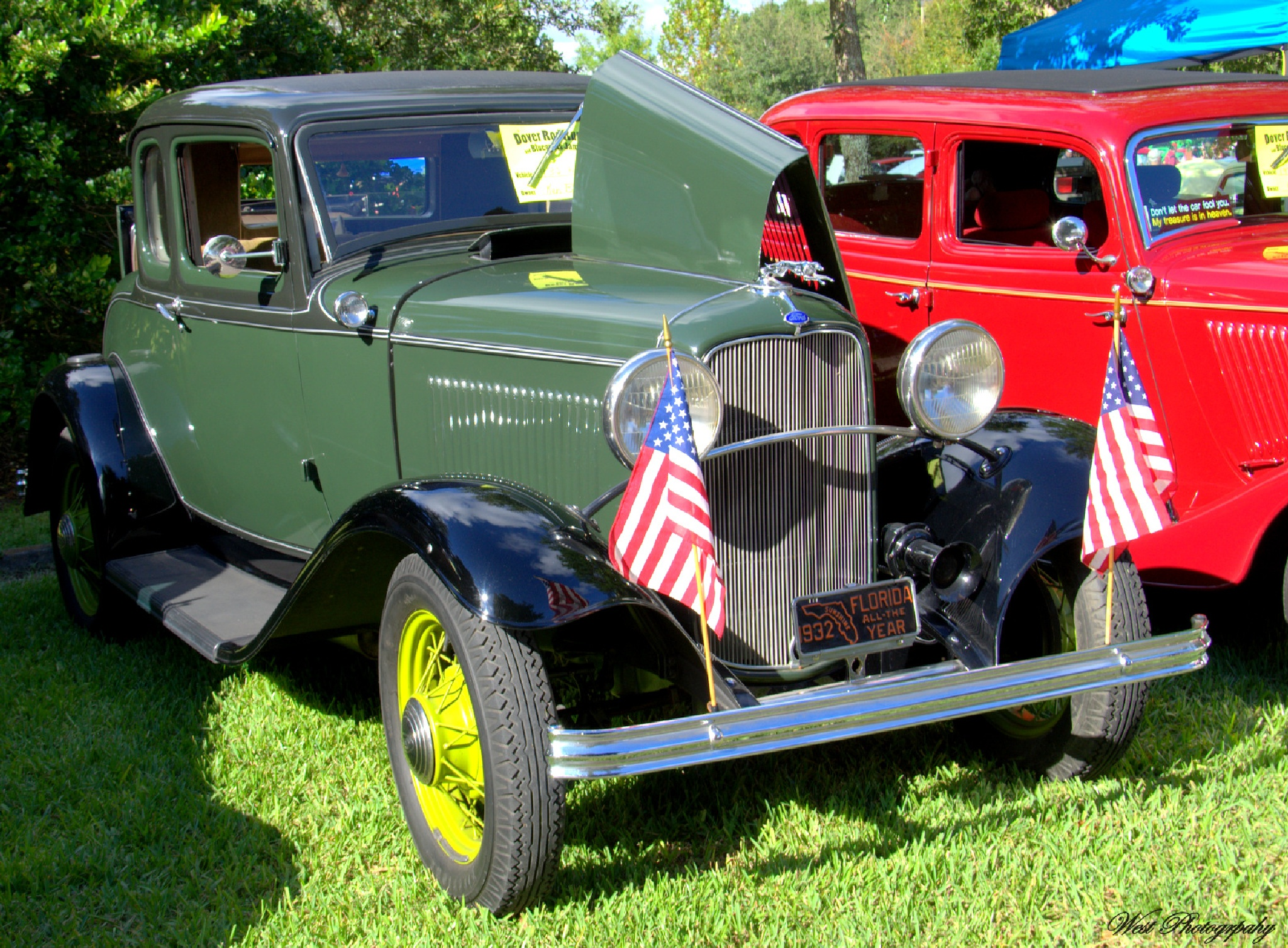 1932 Ford Model B by West Photography