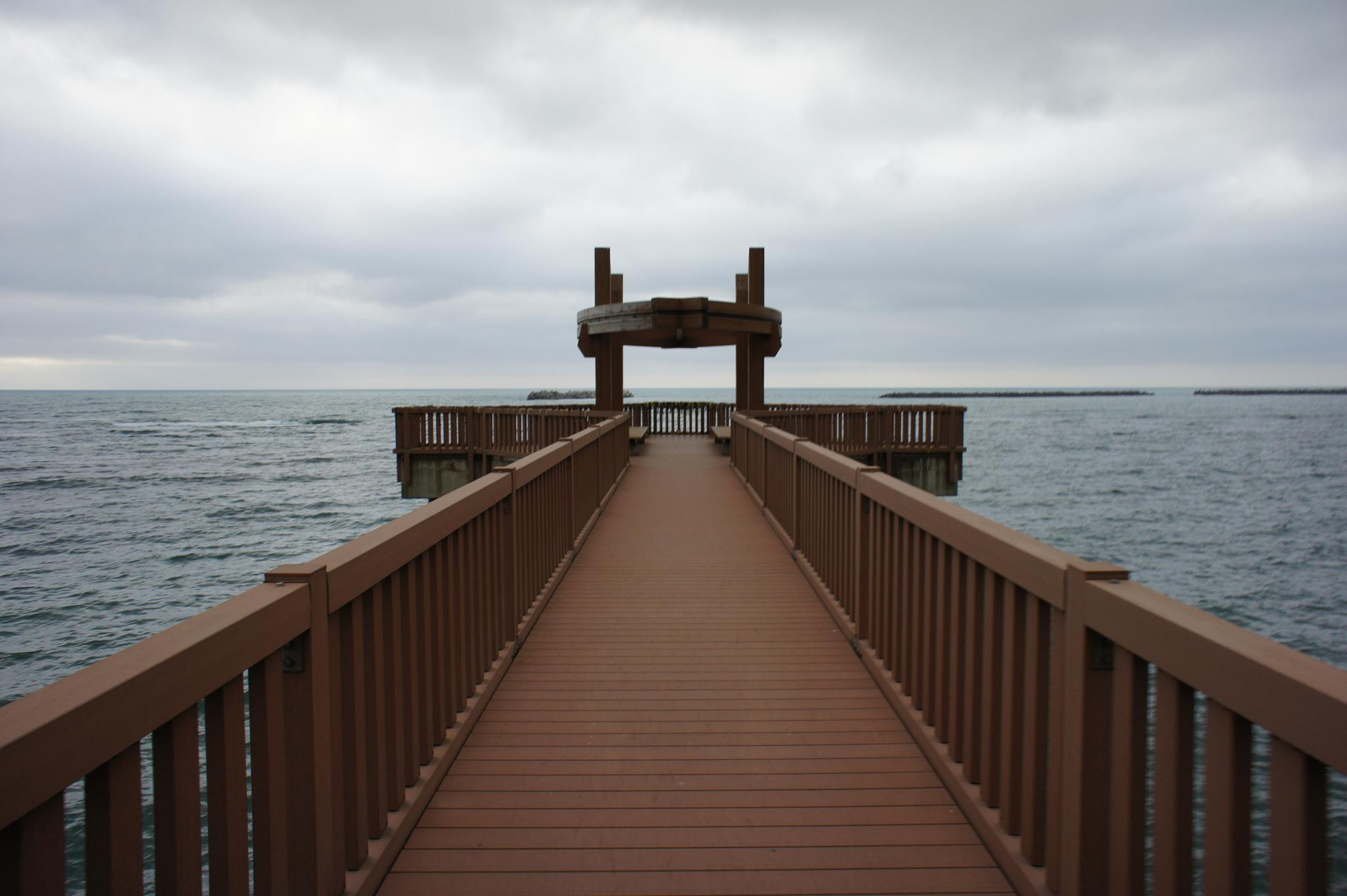 Photo in Cityscape #japanese #park #bridge #sea