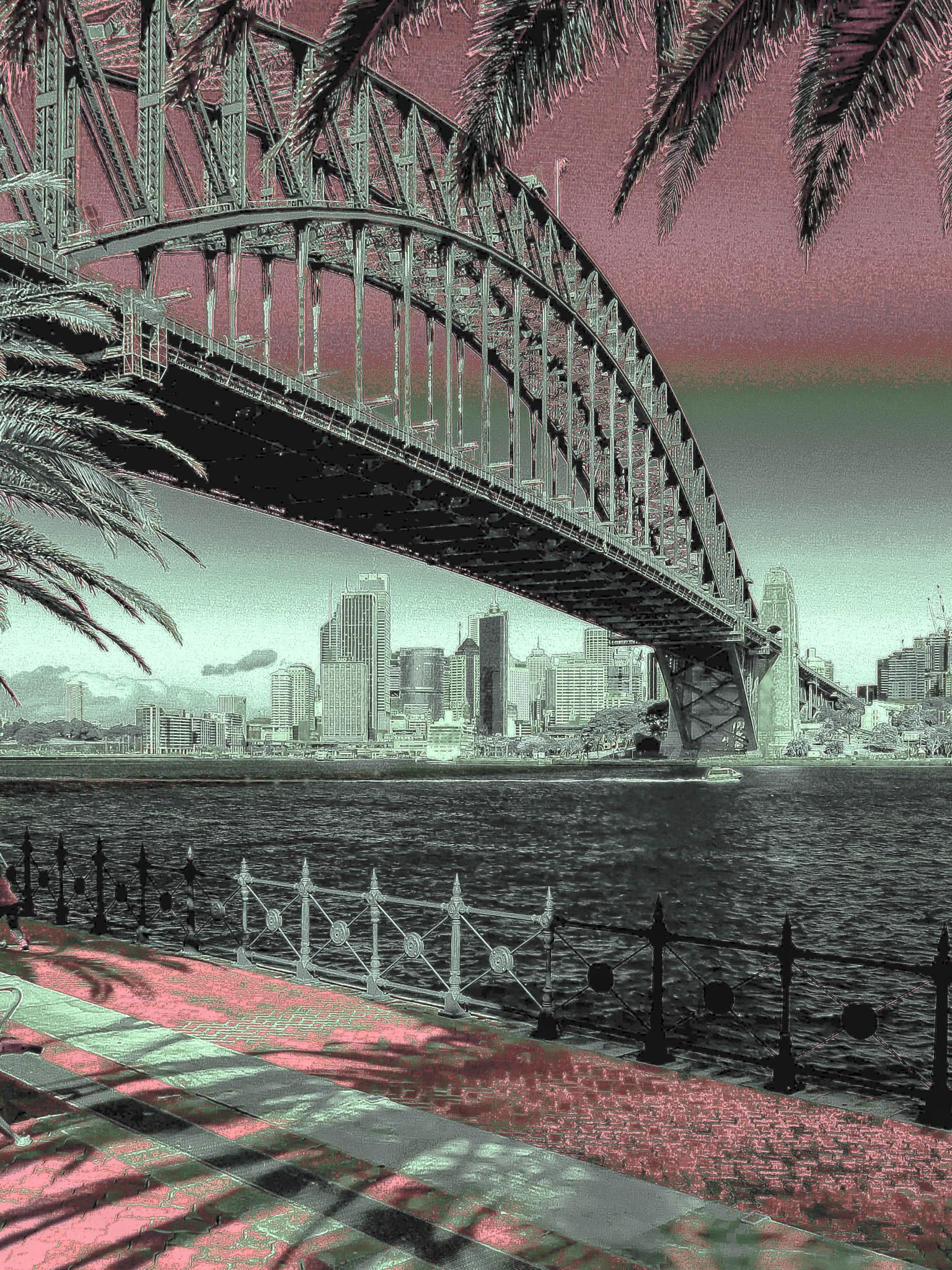 Sydney harbour bridge by Vivian Carmen