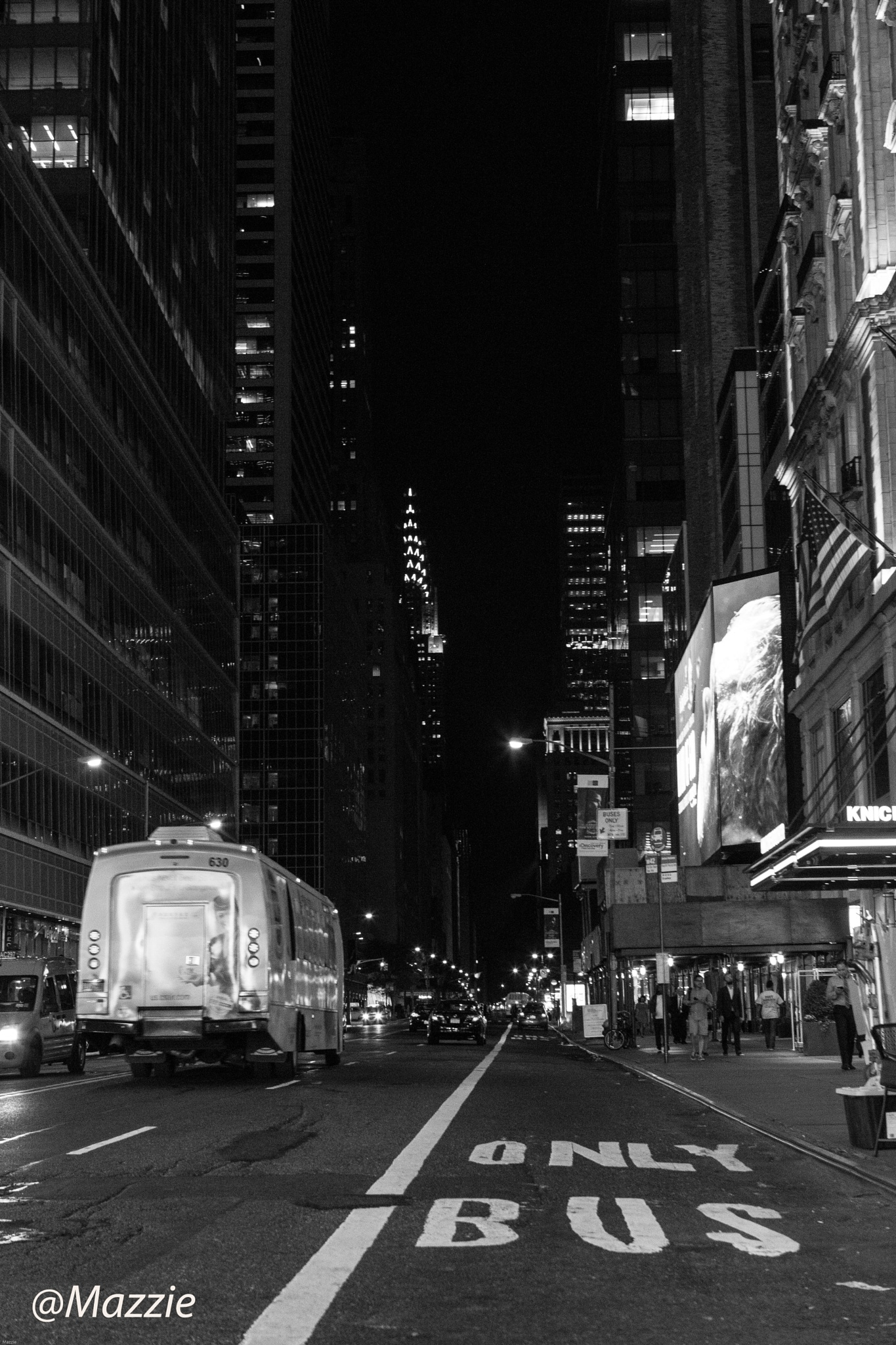 42nd Street, Manhattan by Mazzie Ito