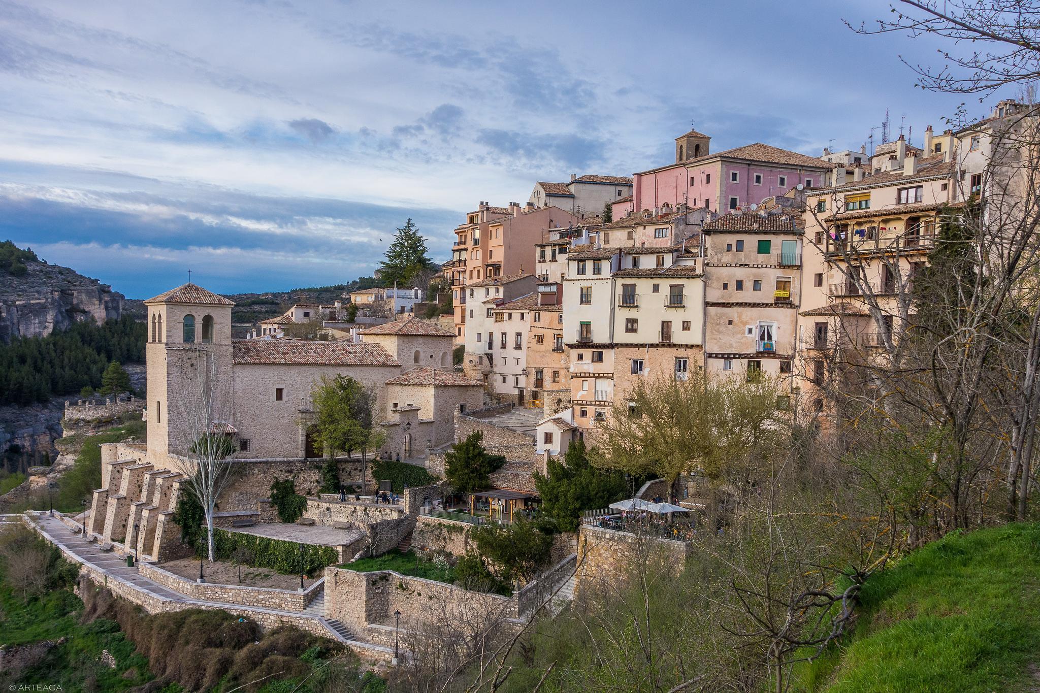 Cuenca, Saint Michael church neighborhood by arteaga