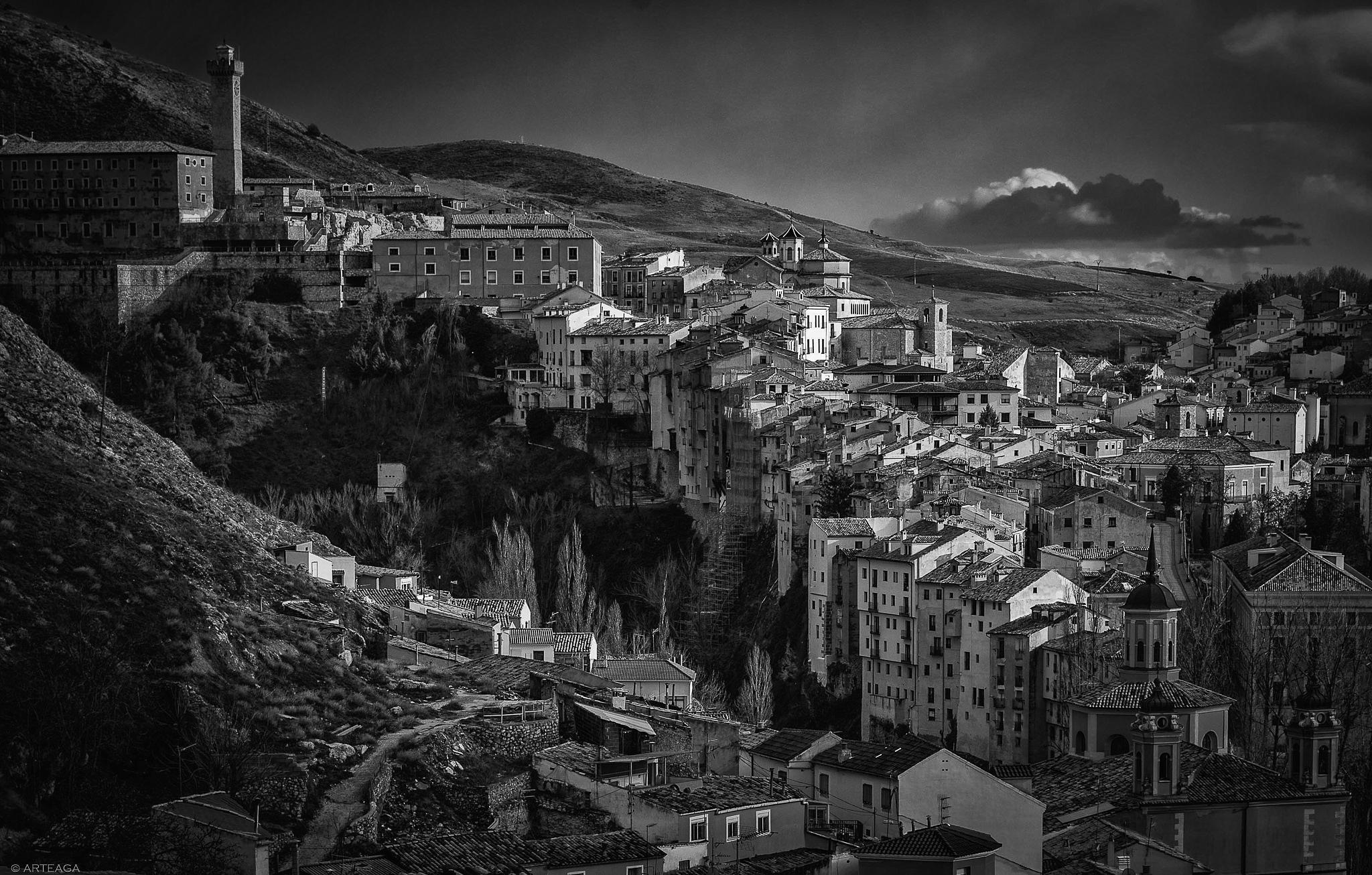 Cuenca, Jucar river valley by arteaga