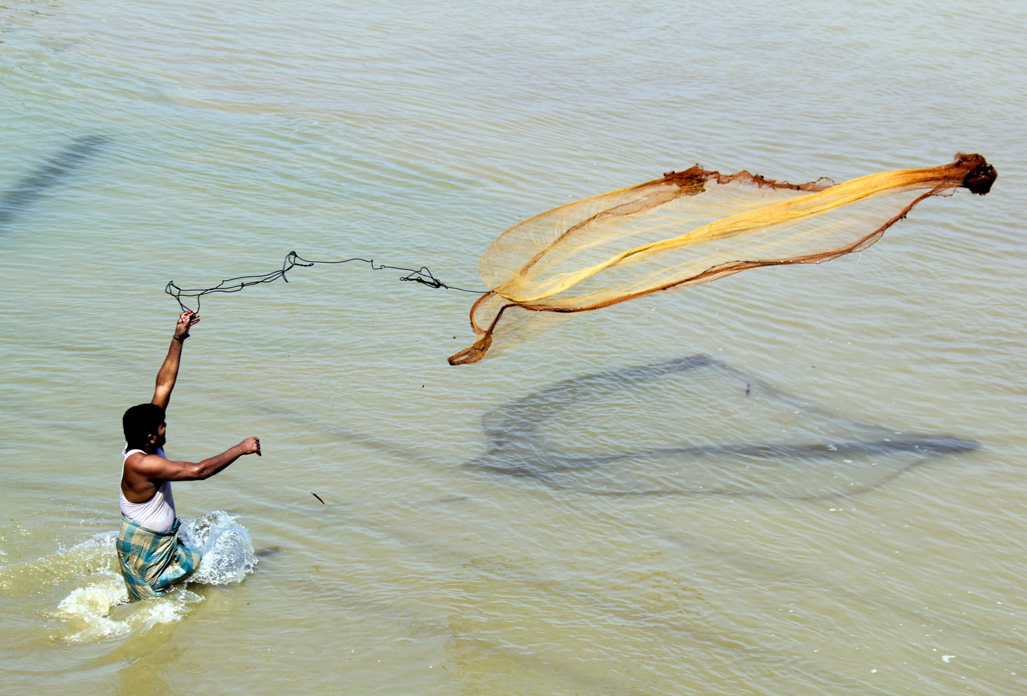 Fishing by Arunkumar Banik