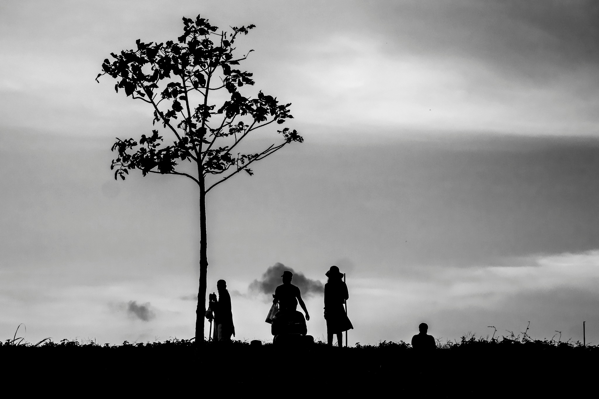 An evening in Sajek valley. by Arunkumar Banik