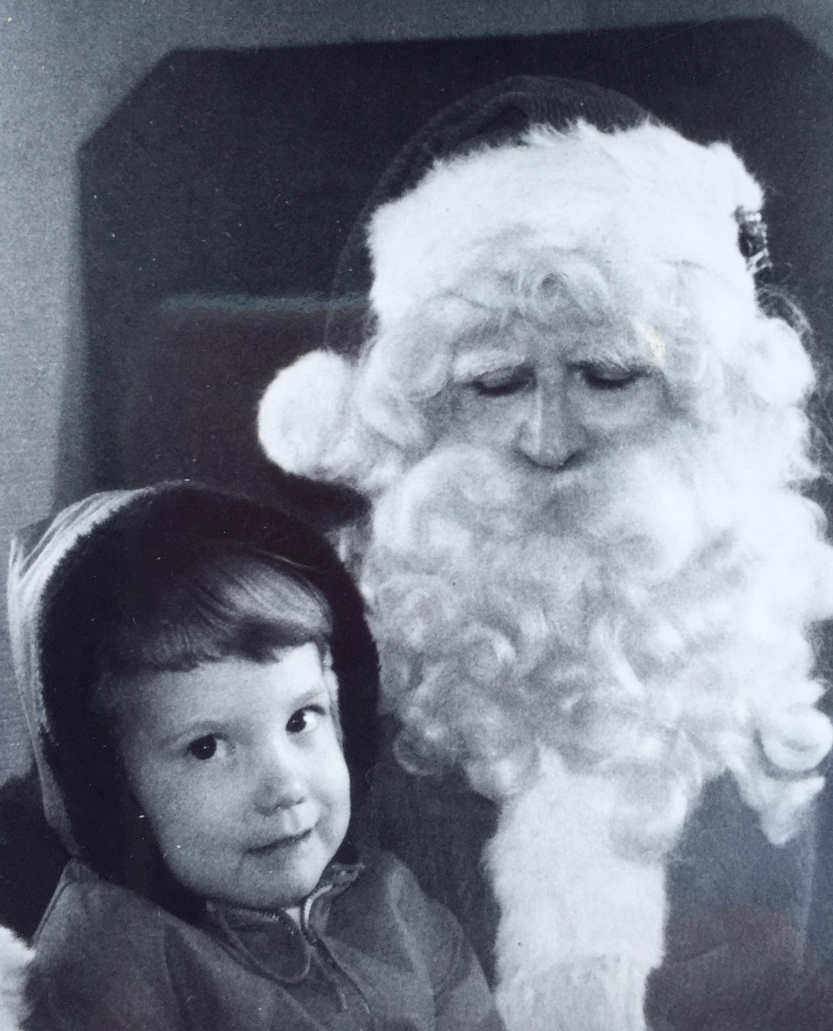 "The ""Real"" Santa (Throwback Thursday) by Susan Wood"