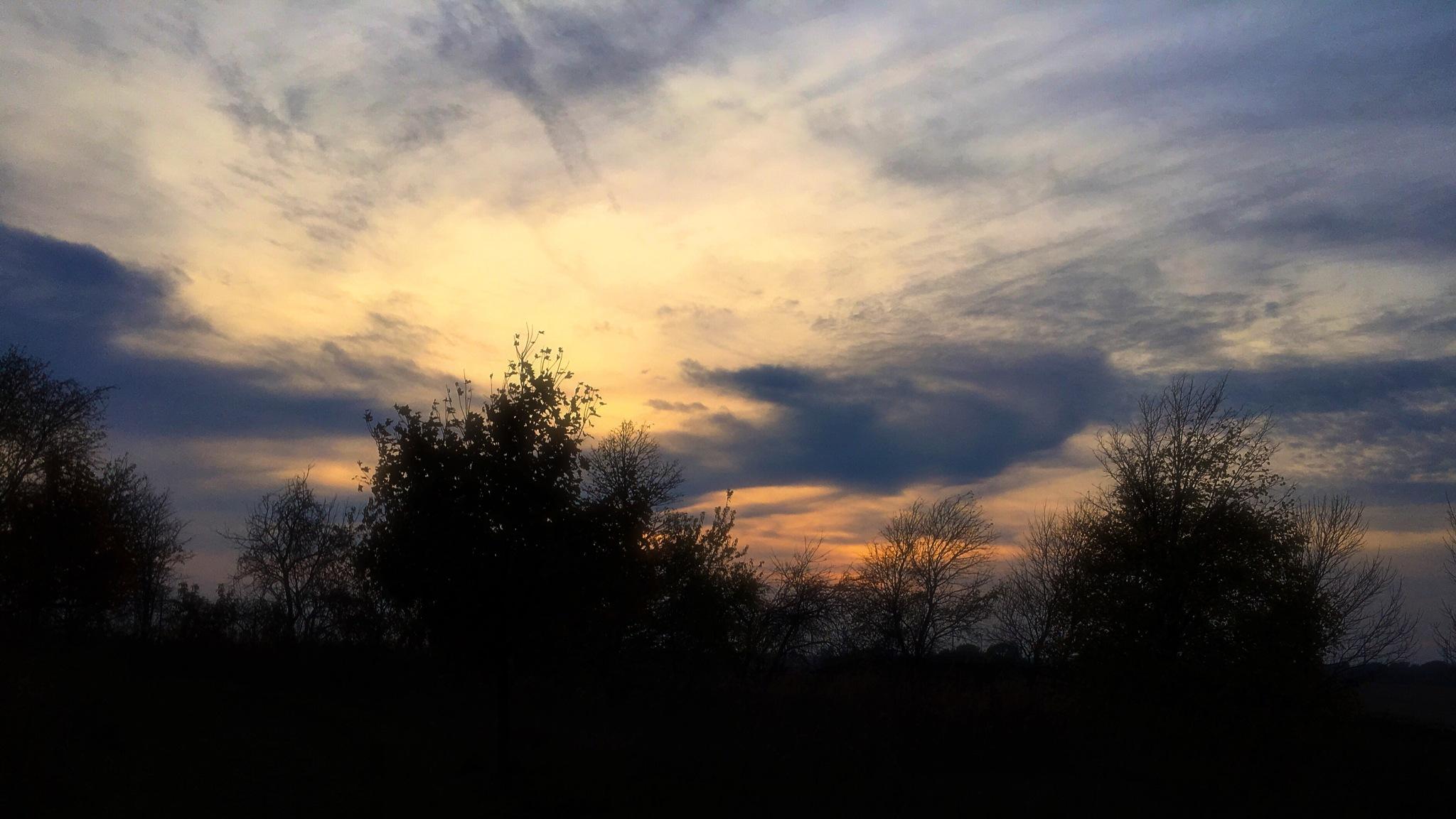 Autumn Sky by Mark Hootman