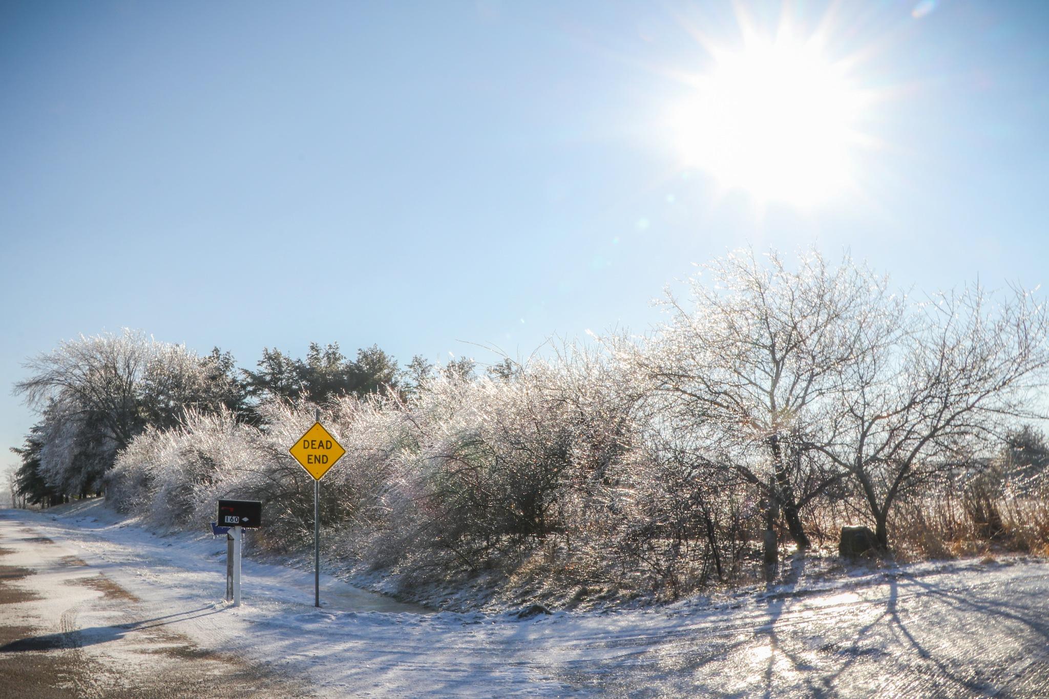 Dead End Winter Day by Mark Hootman