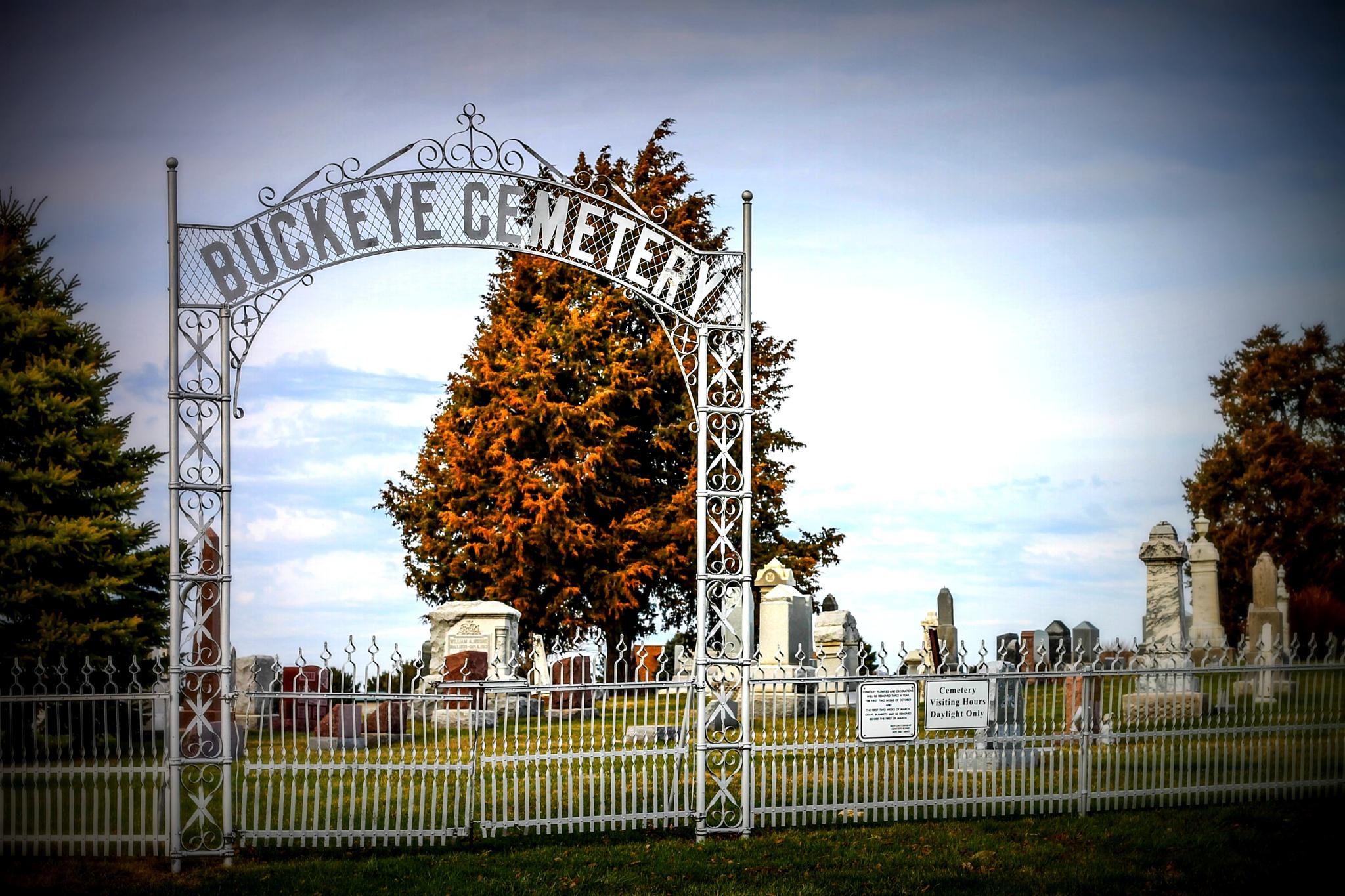 Buckeye Cemetery by Mark Hootman