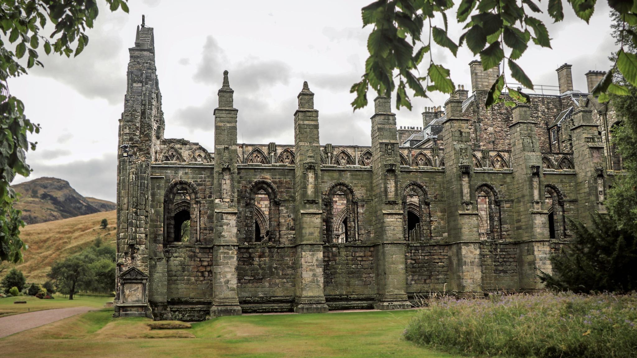 Holyrood Abbey  by Mark Hootman