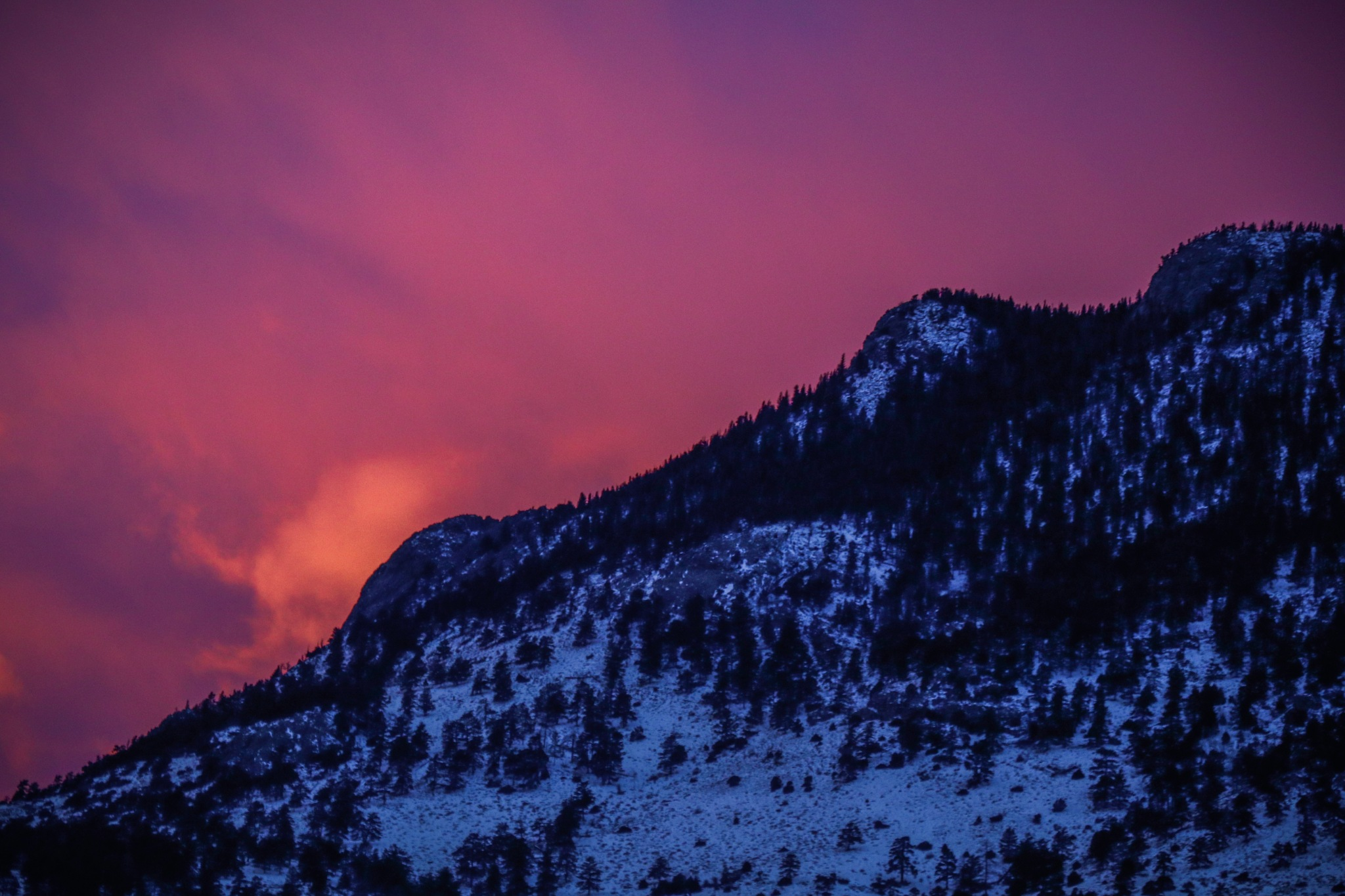 Fire on the mountain by Mark Hootman