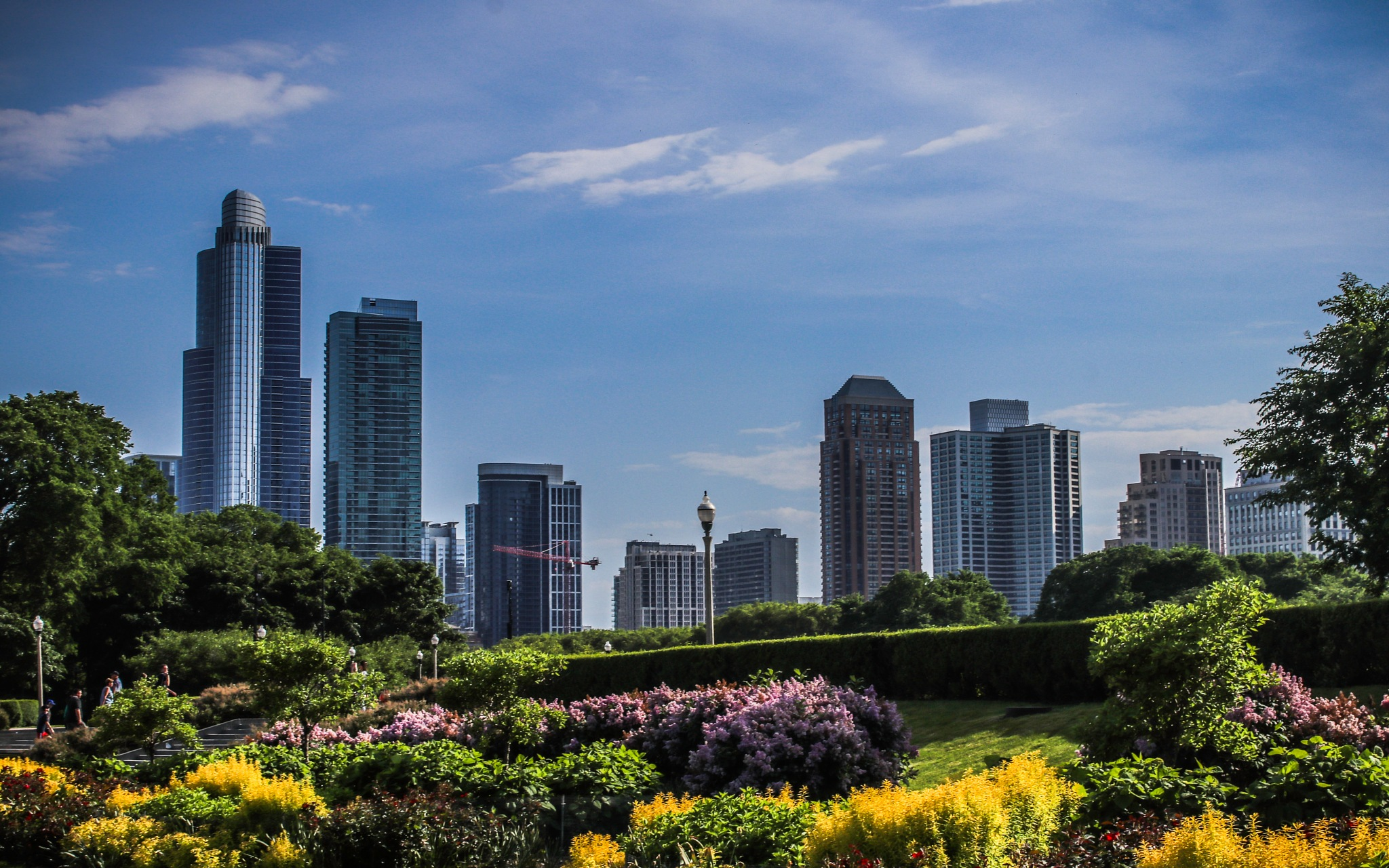 Chicago and Grant Park by Mark Hootman