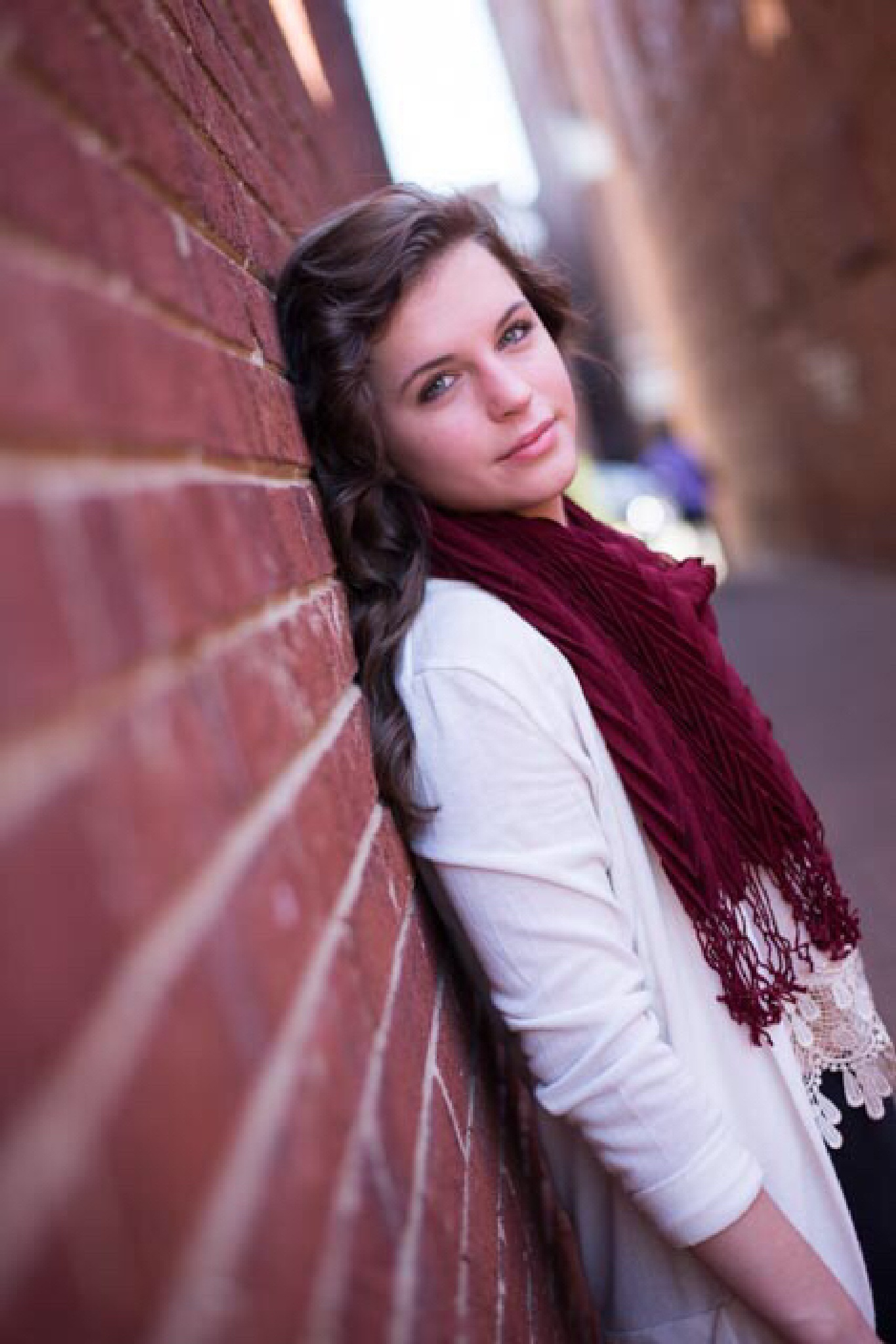 Senior portrait  by Janet Dalton Photography