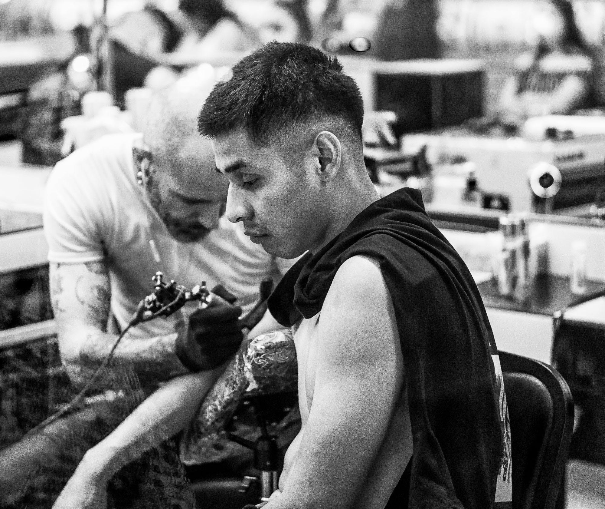 1st Tattoo by whitetigertom