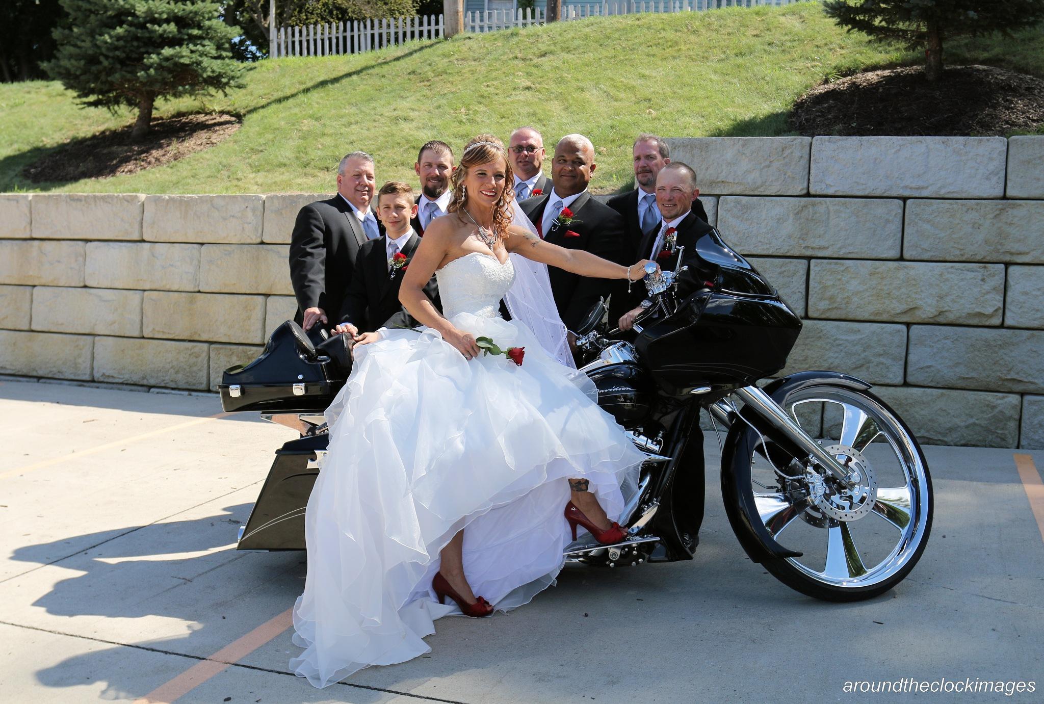 Wedding day by Lamar Smith