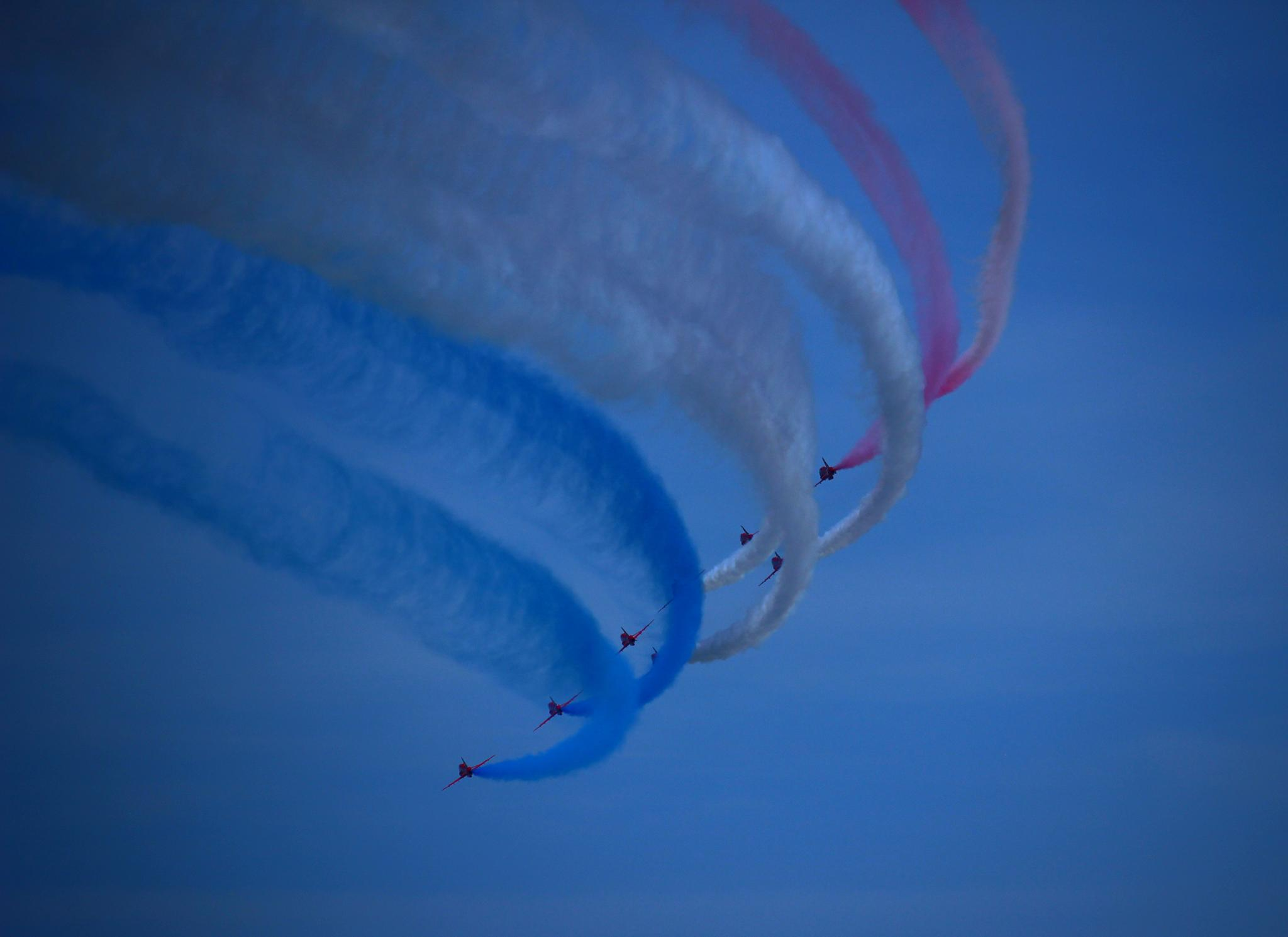 Red Arrows  by Teresa