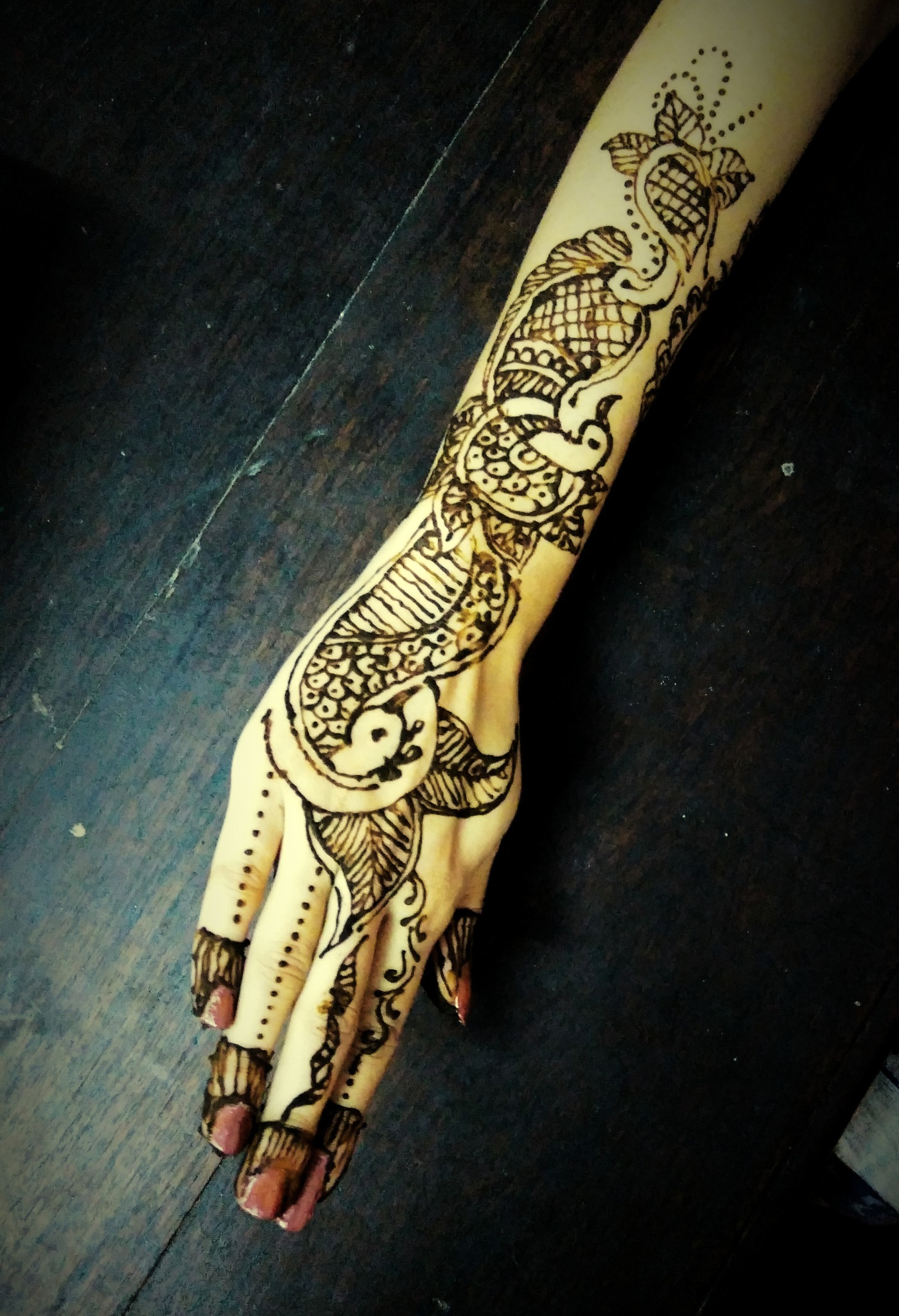 Indian Mehandi by ace1672014
