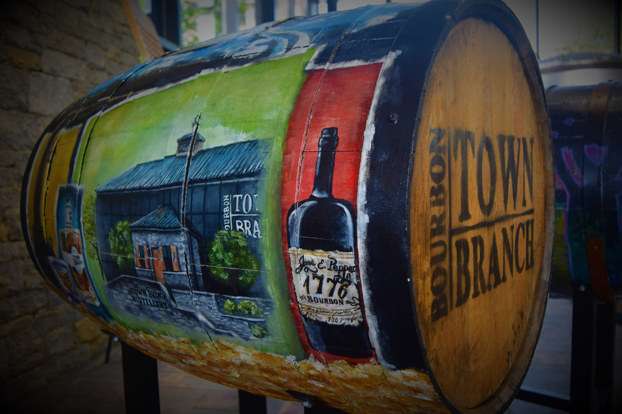 Bourbon Barrel by LornaWLittrell