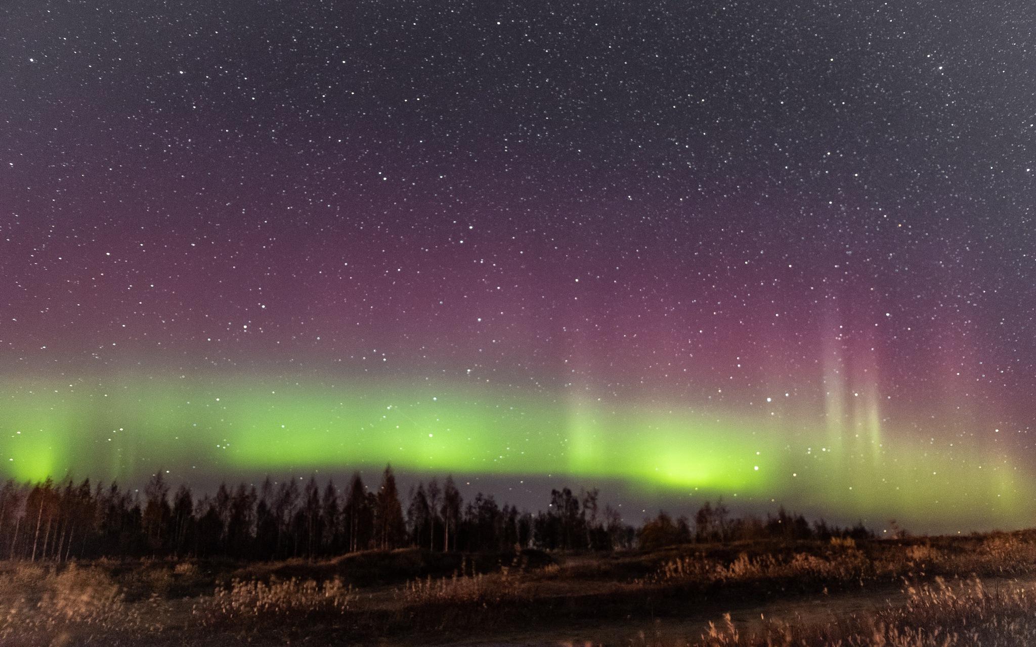 Northern lights by Janne Karppinen