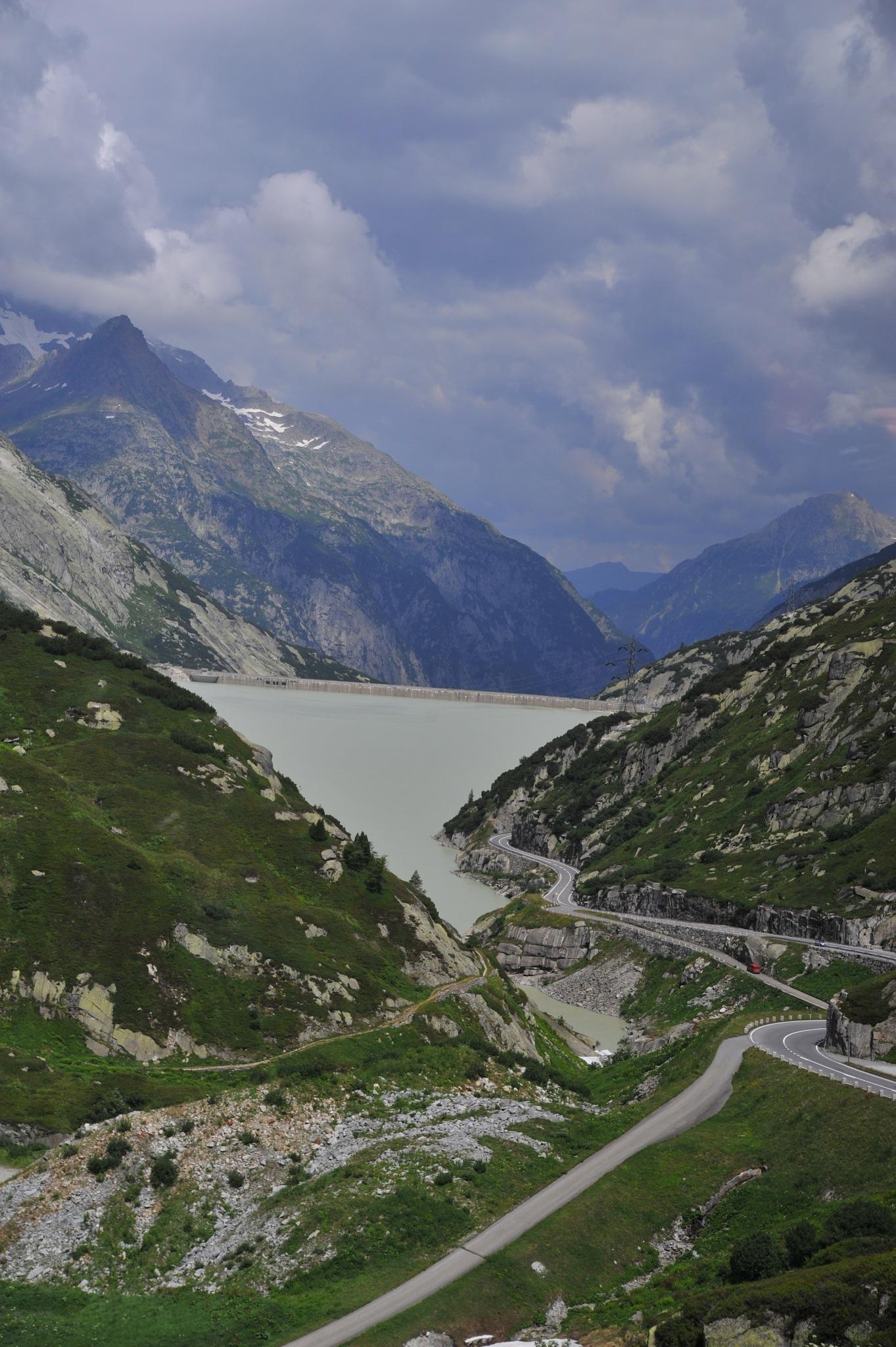Grimsel pass  by EsbenDK