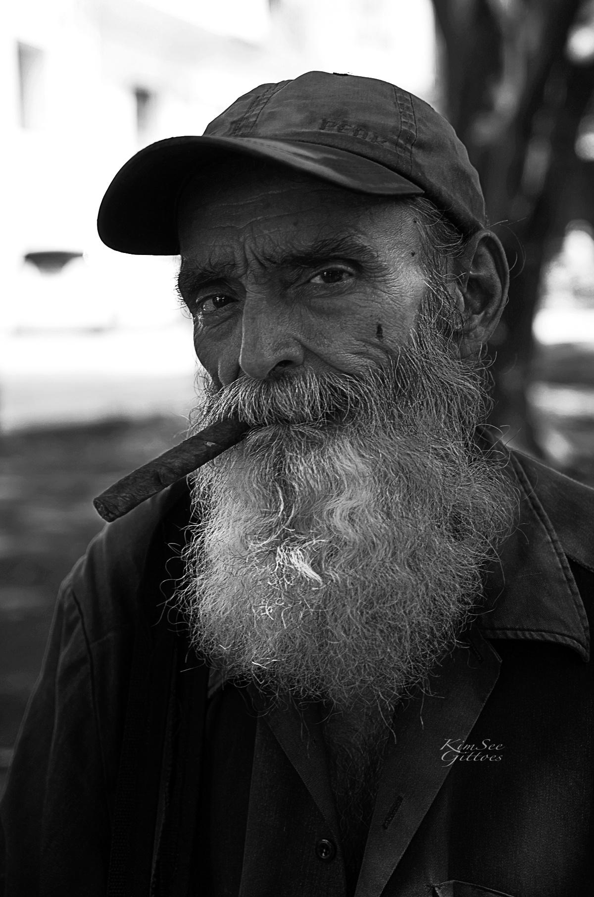 Cuban man by KimSee