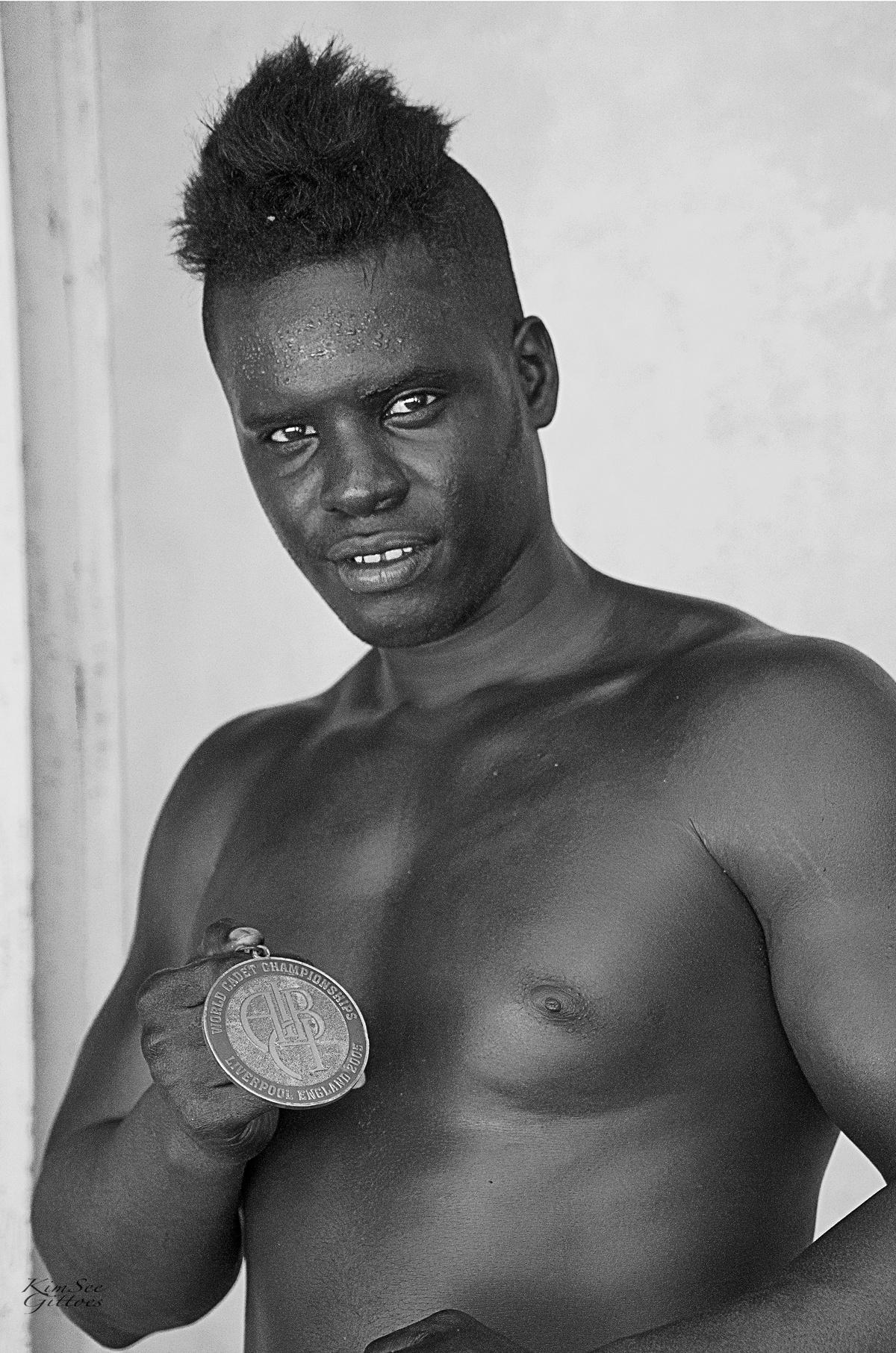 Cuban Boxer Champion by KimSee