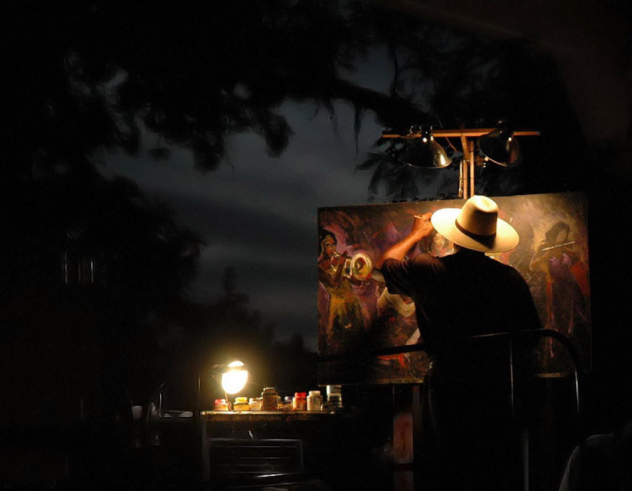 The Artist by papaga