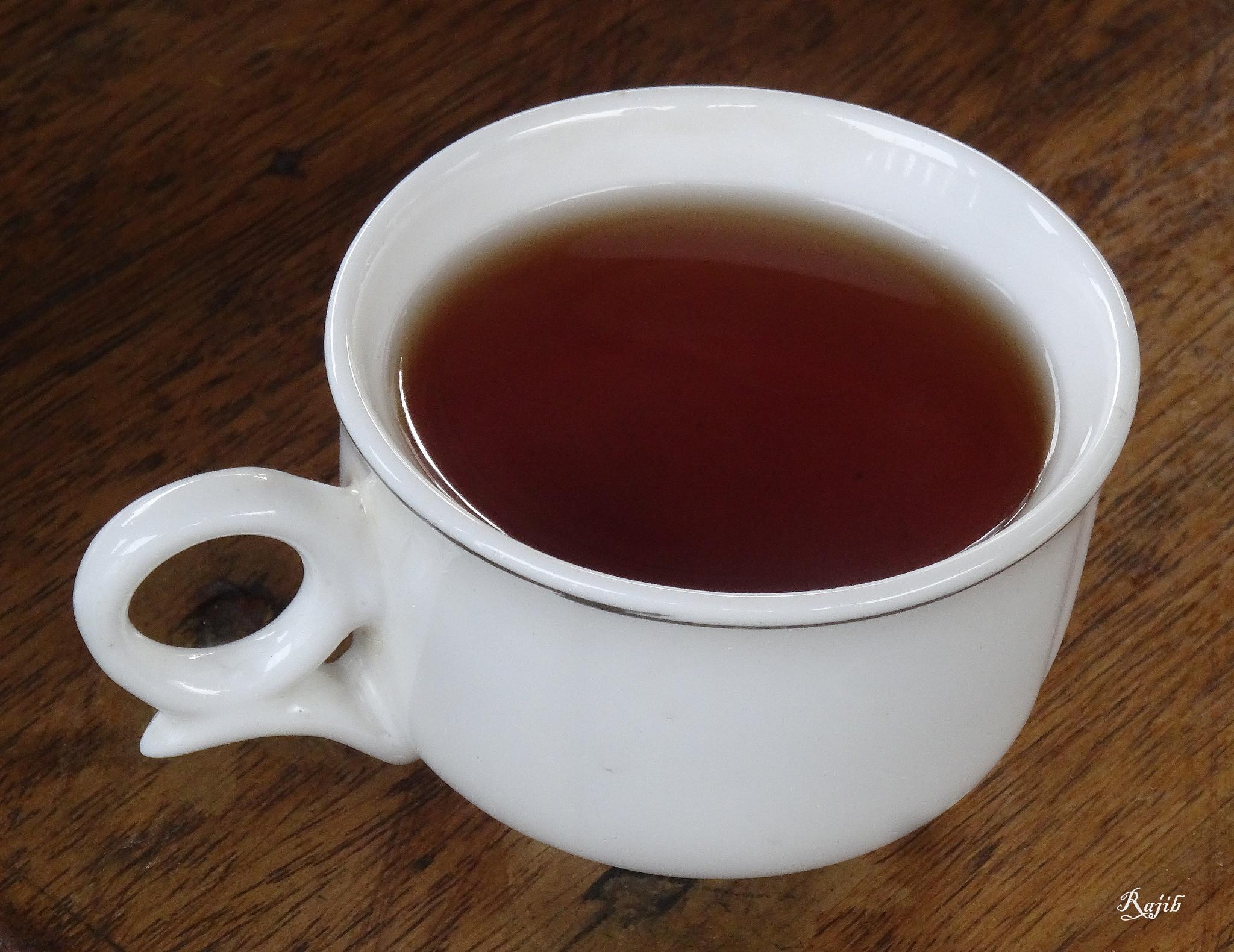 Raw tea by saharajib