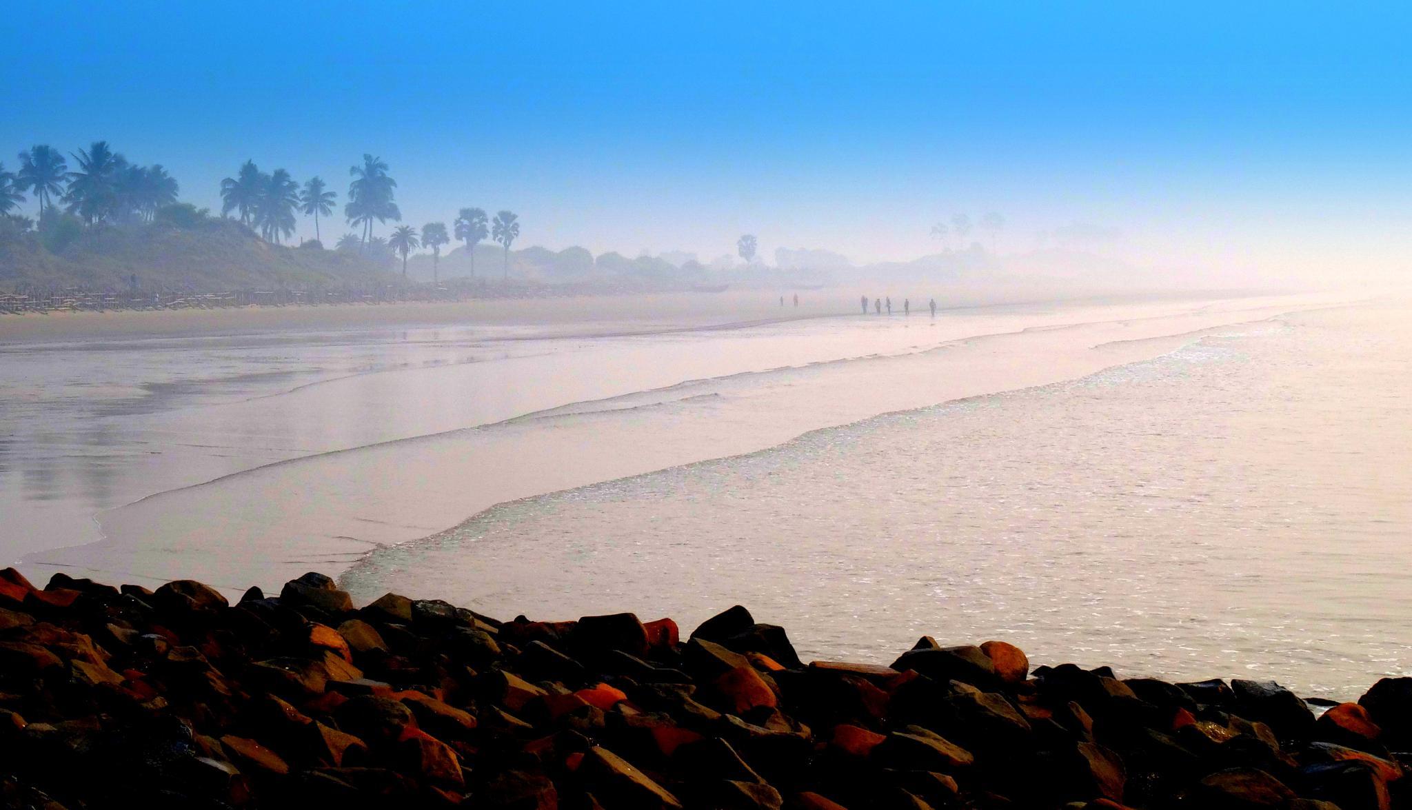Digha beach  by saharajib