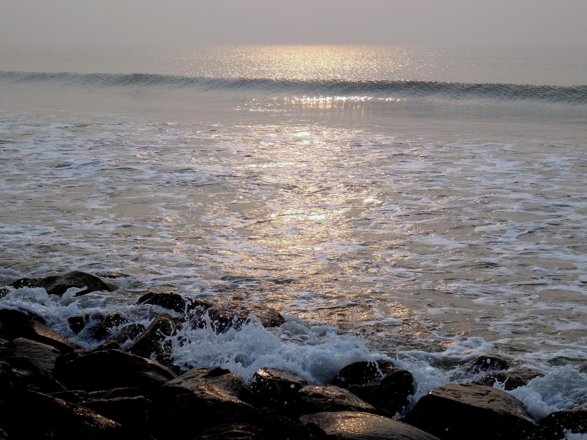 """""""Bay of Bengal""""- Digha by saharajib"""
