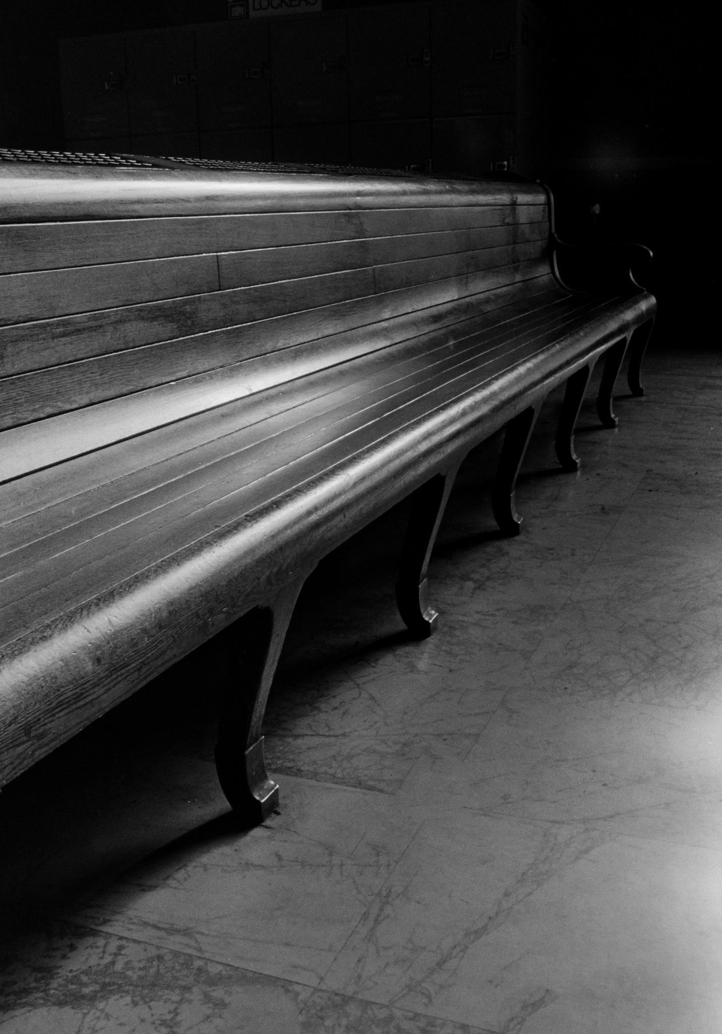 Train Station Bench by Graham Jamie Bush