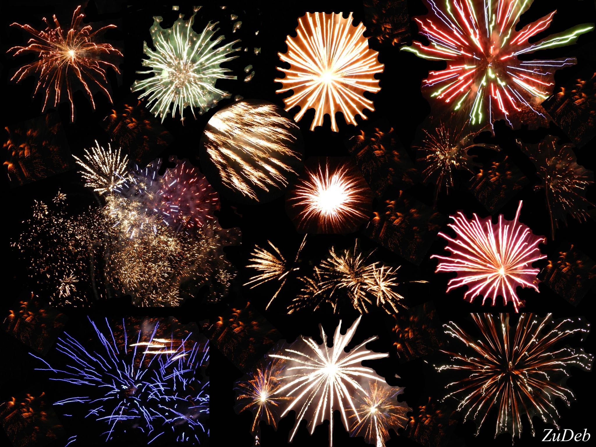 Fireworks by ZuDeb