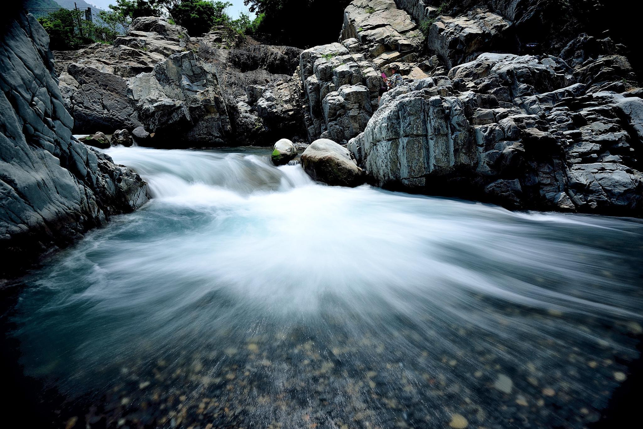 River by WEN KO HUANG