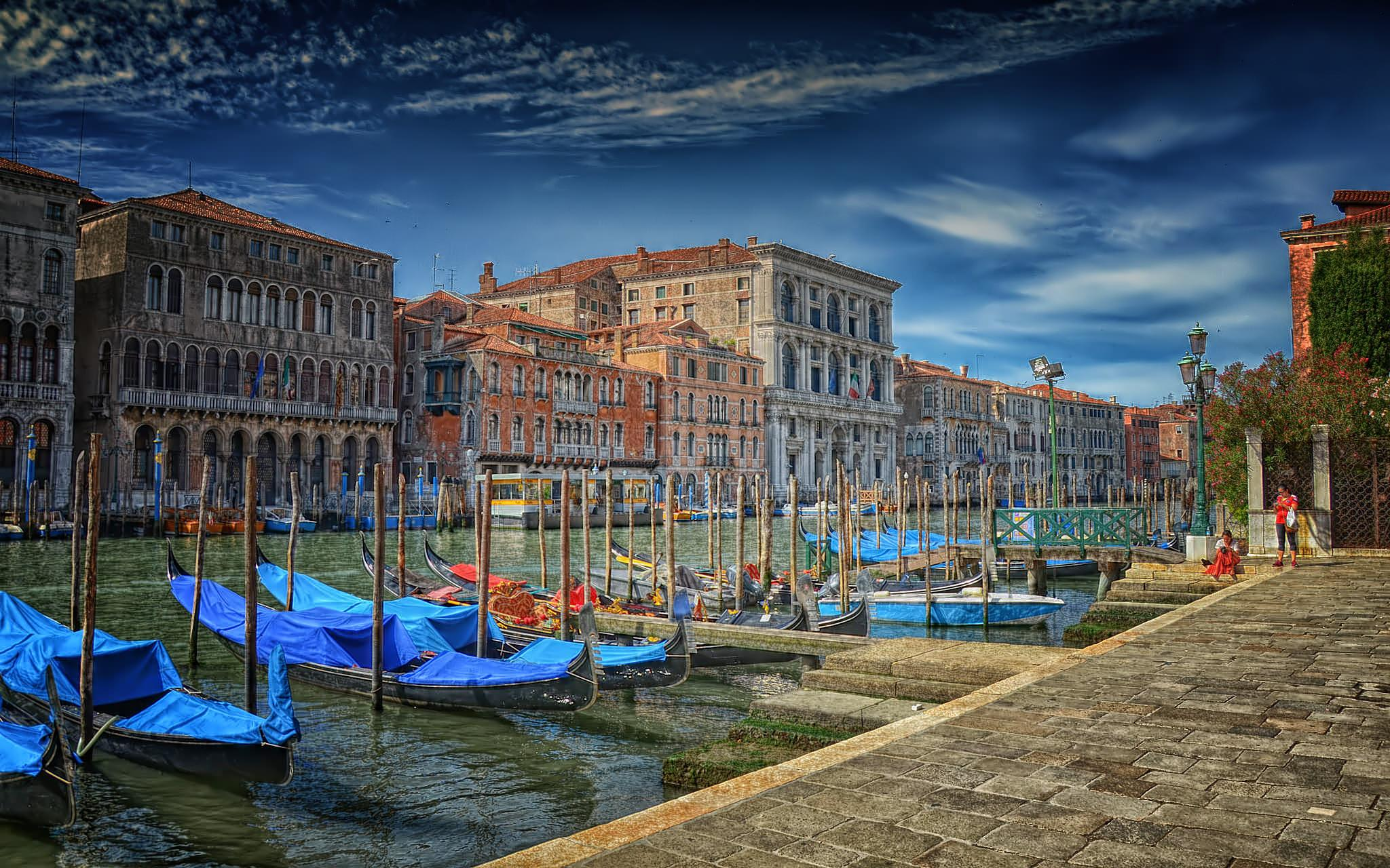Grand Canal processed by Asterix93