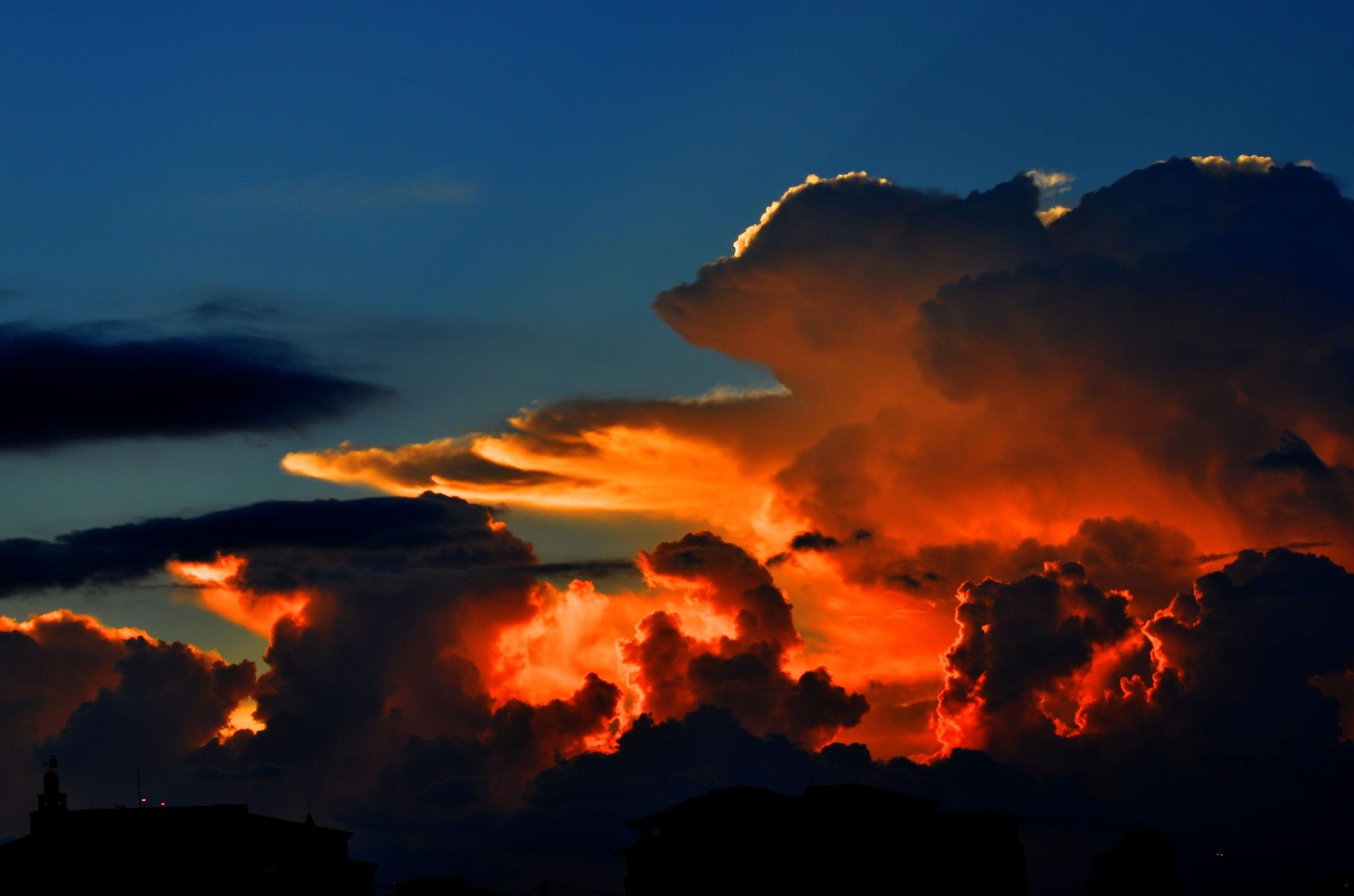 Summer Sunset by Pablo Cuesta