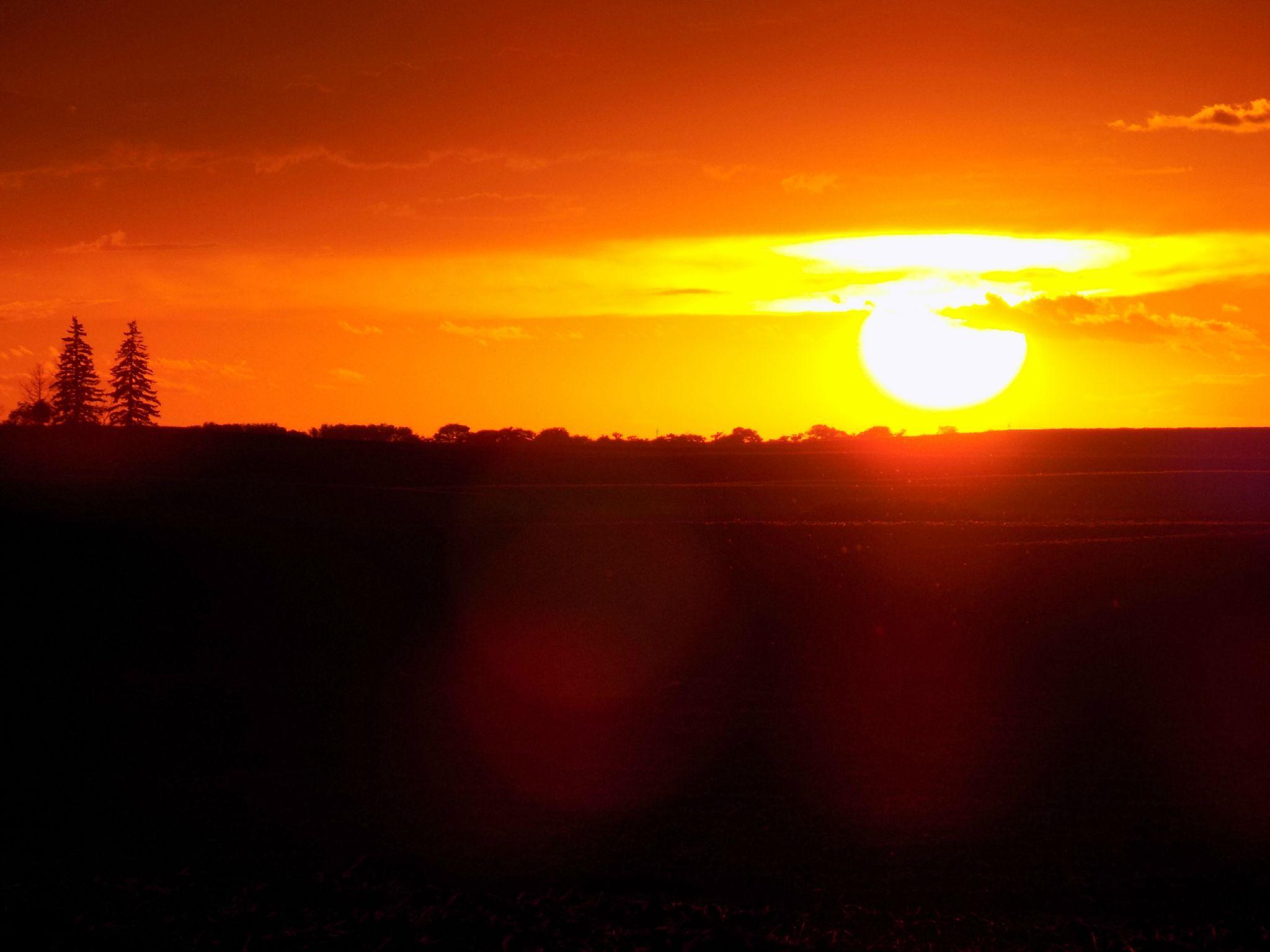 Sunset on the Prairie by Anita Roberts Soupir
